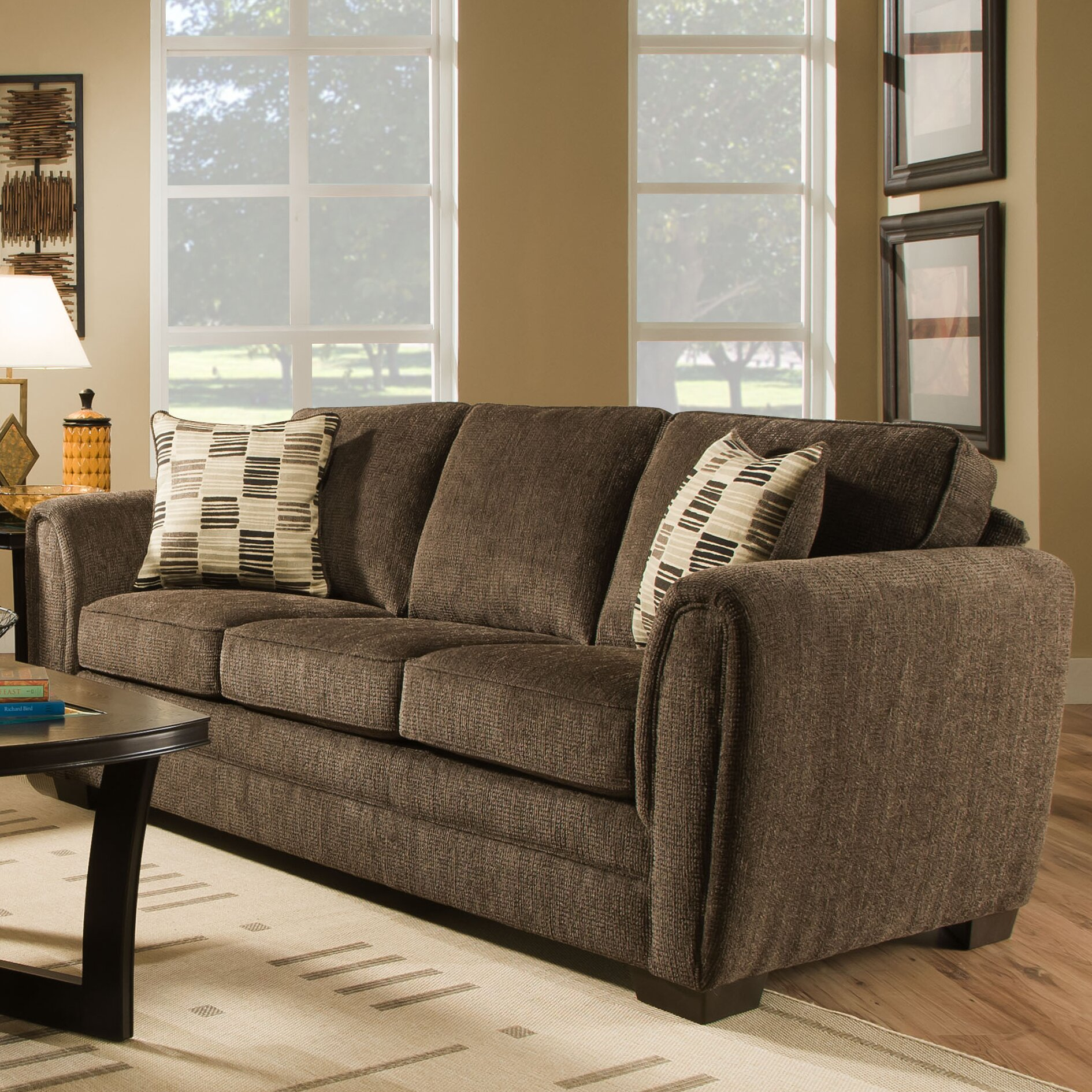 Simmons Upholstery Lucas Living Room Collection Reviews Wayfair