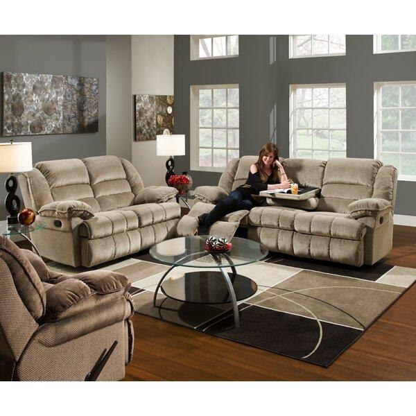 Simmons Upholstery Champion Double Motion Sofa Reviews Wayfair