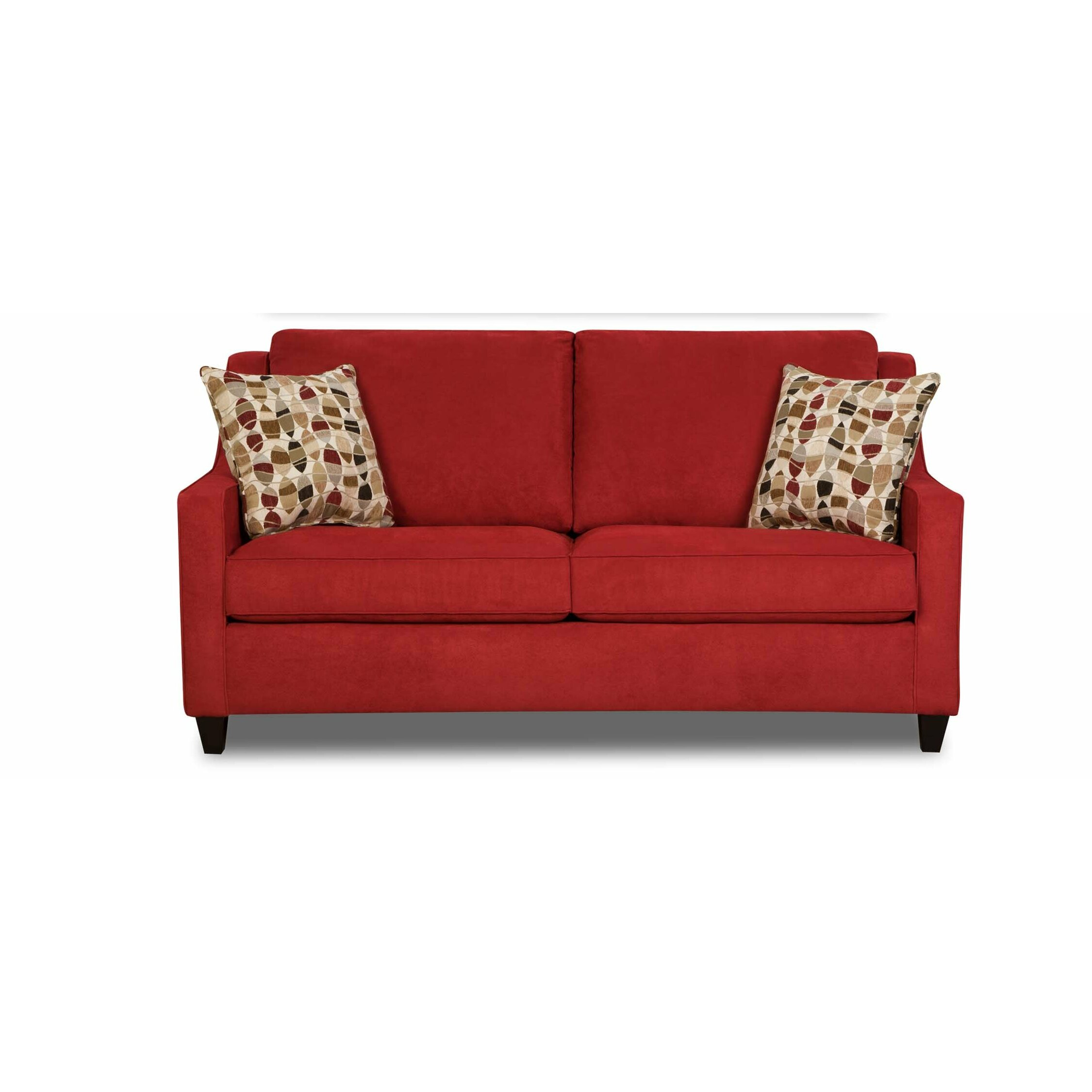 Simmons upholstery twillo full sleeper sofa reviews for Wayfair furniture sectional sofa