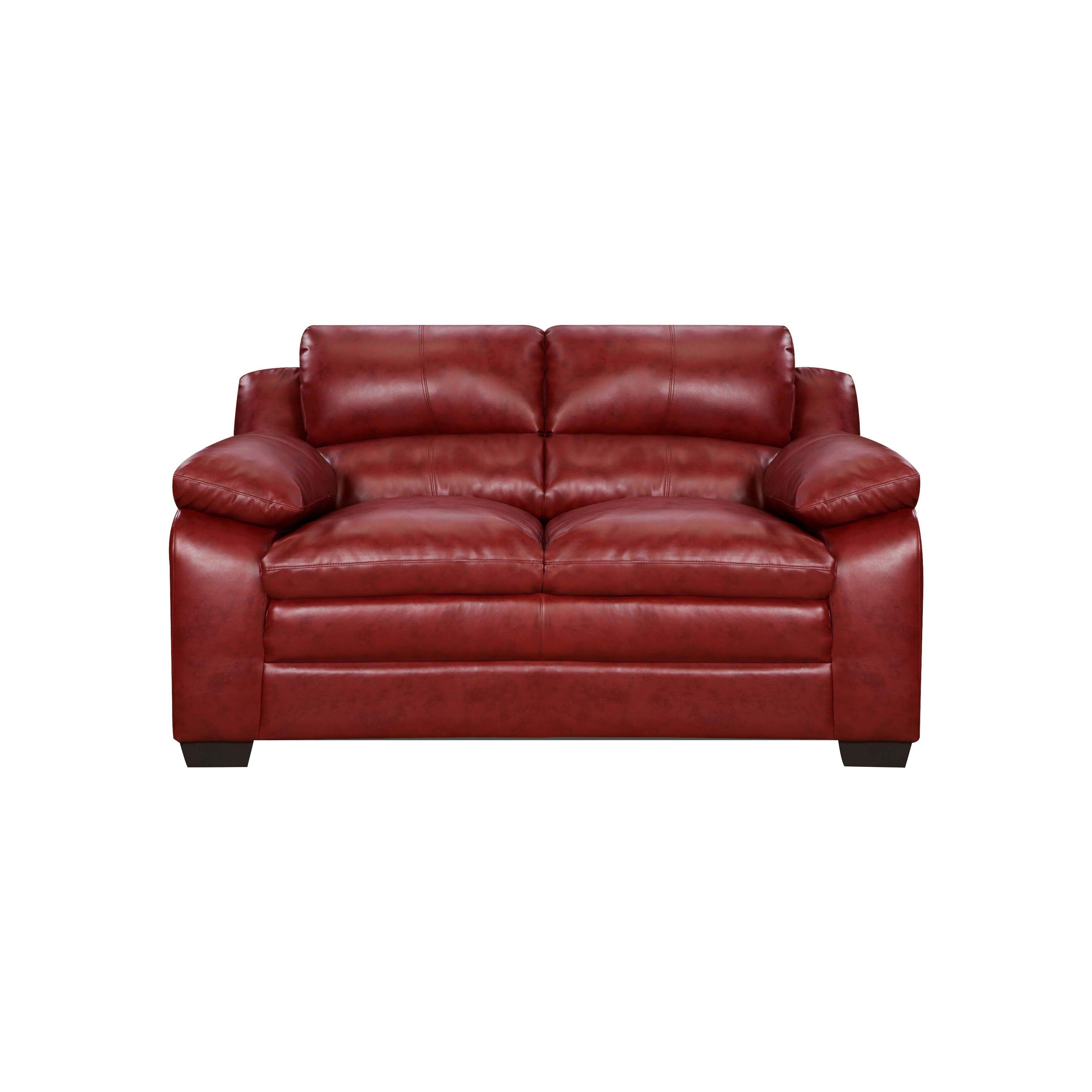 Simmons Upholstery Soho Loveseat Reviews Wayfair