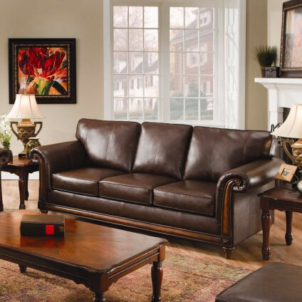 Three Posts Simmons Upholstery Duwayne Queen Sleeper Sofa & Reviews