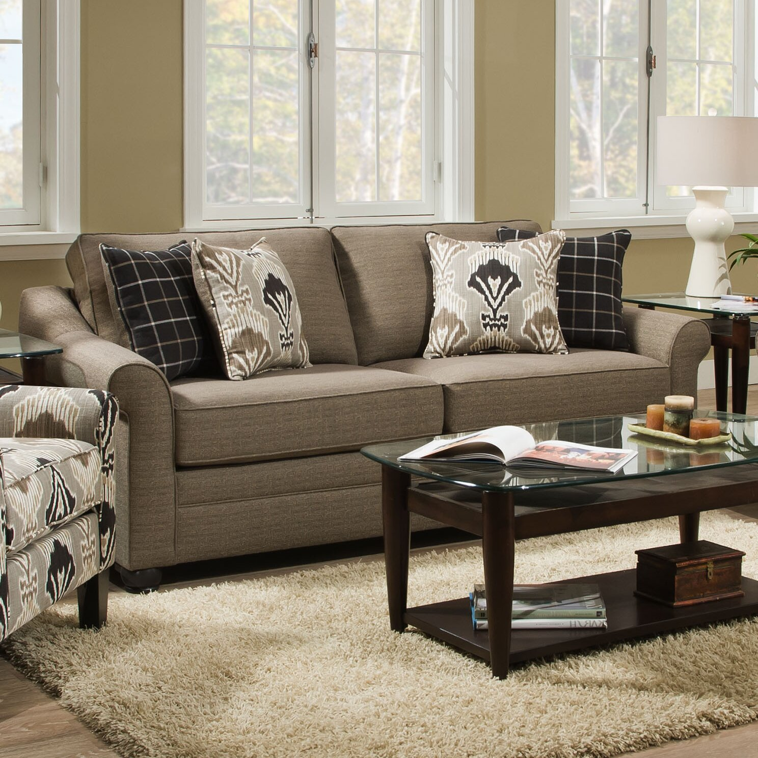 Simmons Upholstery Seguin Living Room Collection Wayfair Supply