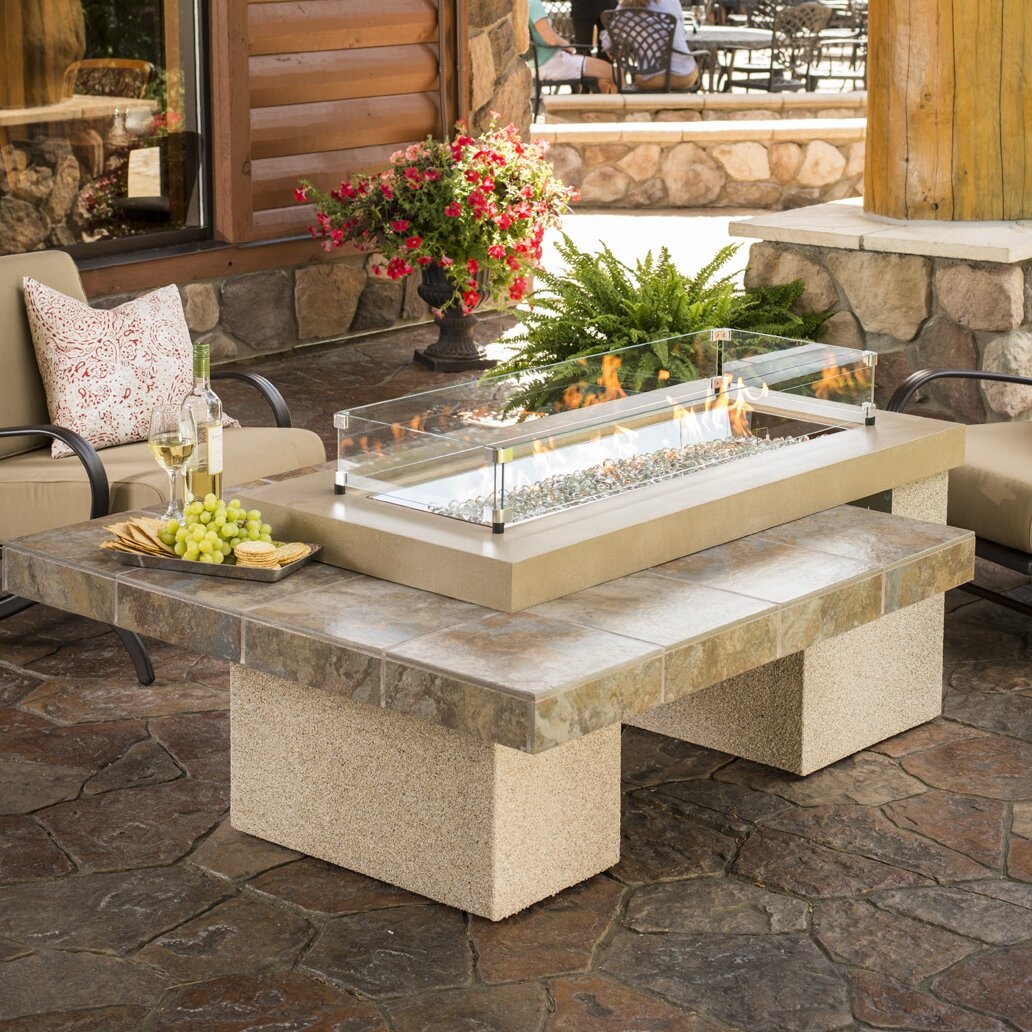 The Outdoor Greatroom Company Uptown Crystal Fire Pit
