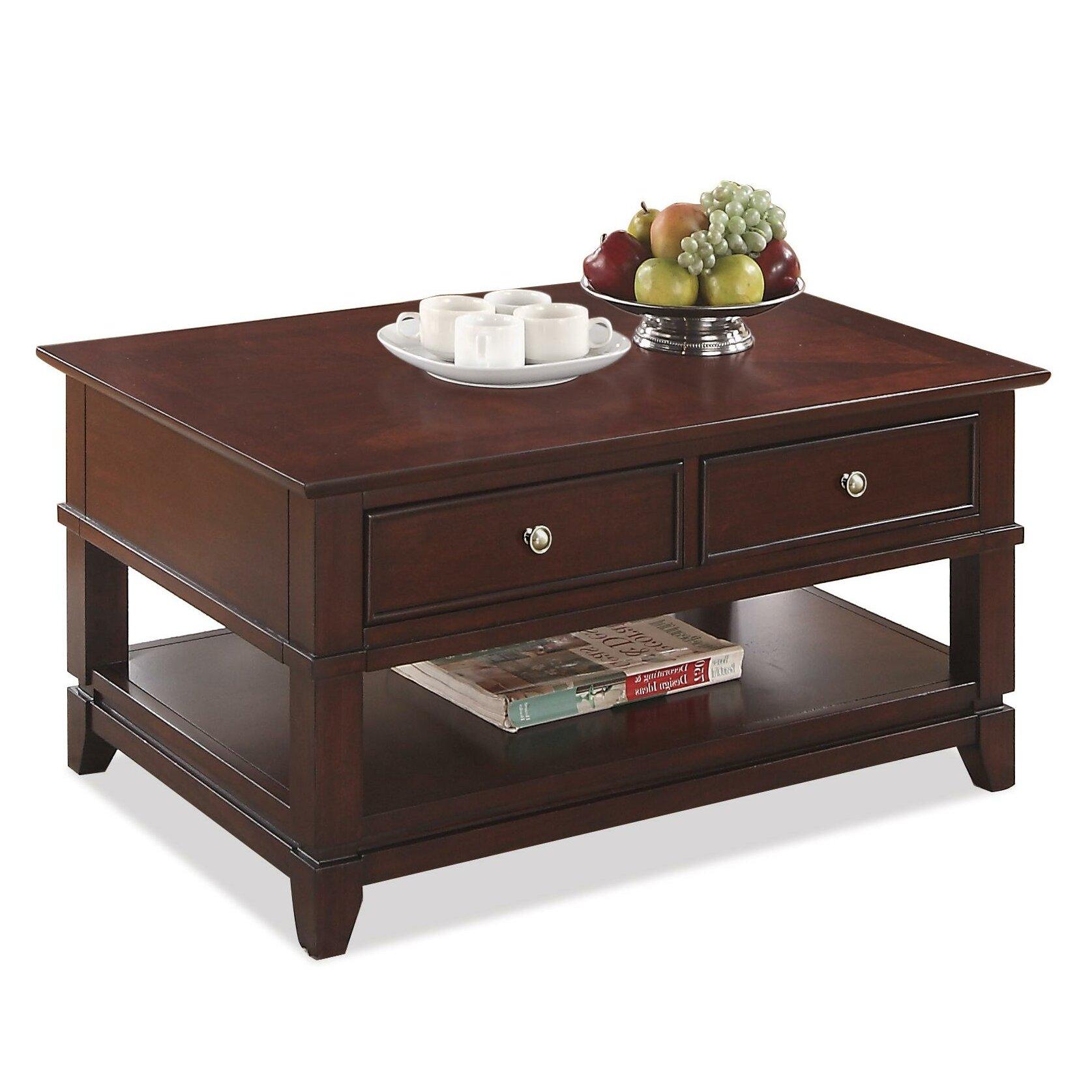 Riverside Furniture Marlowe Coffee Table Reviews Wayfair