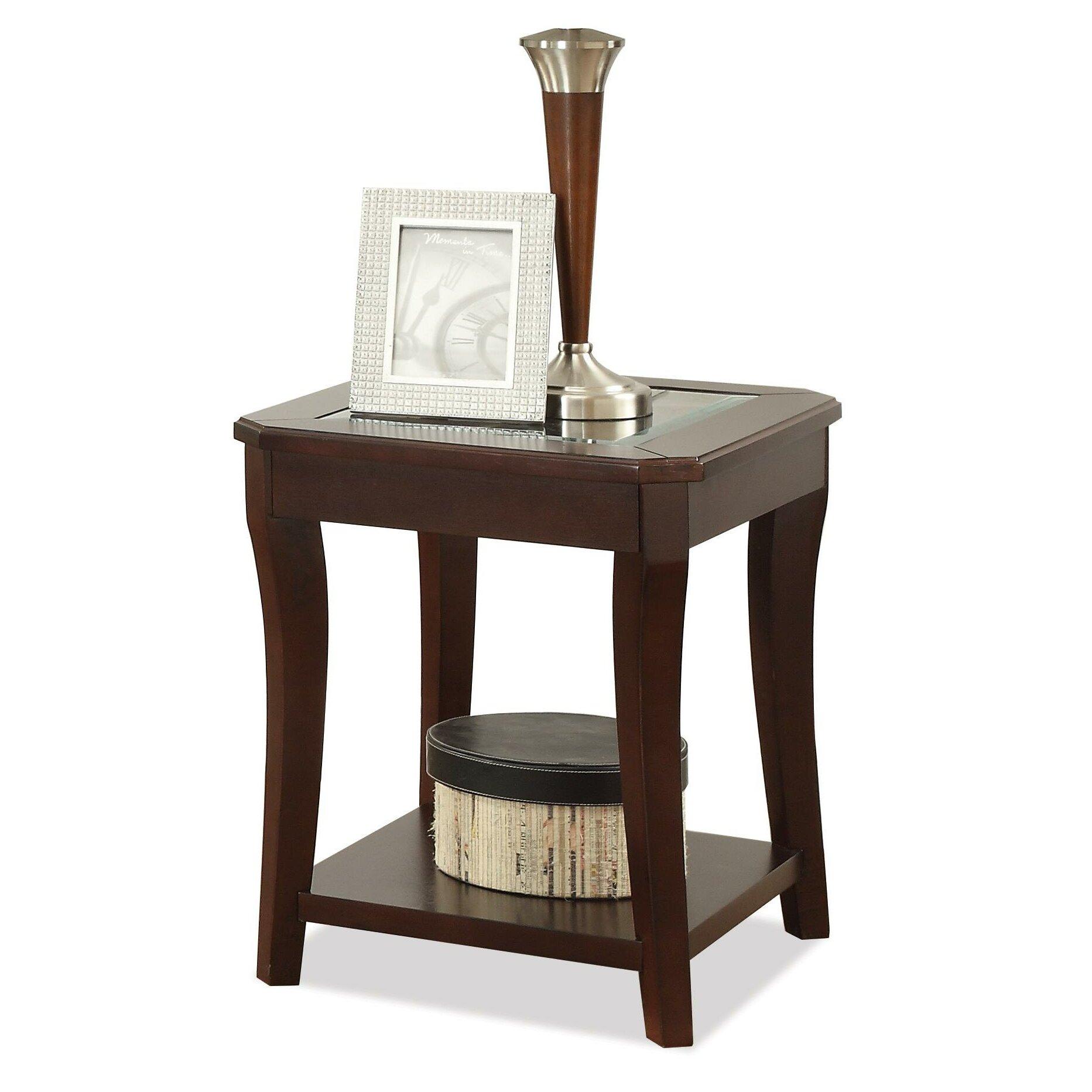Riverside furniture bancroft end table reviews wayfair for Wayfair shop furniture