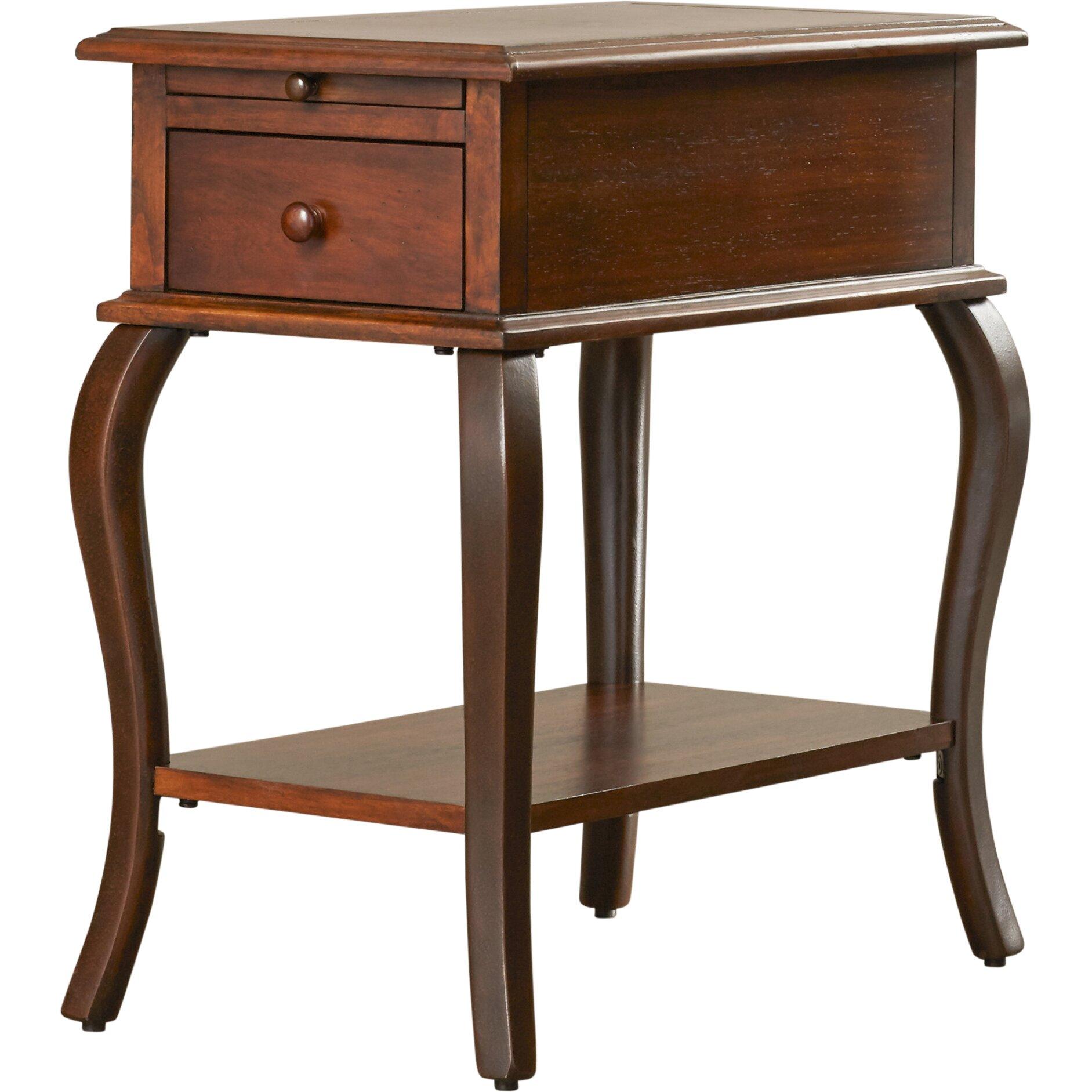 Riverside Furniture Serena End Table & Reviews