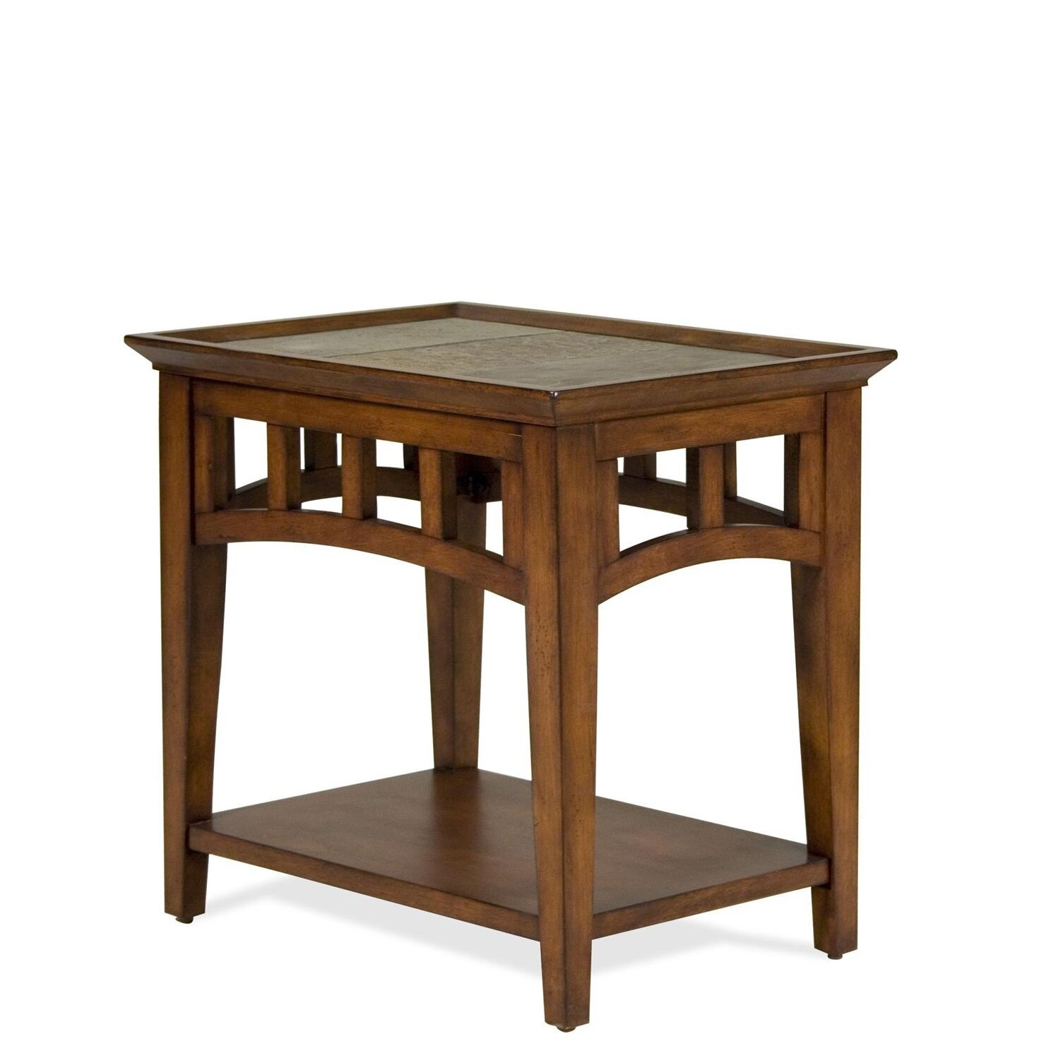Riverside furniture andorra end table reviews wayfair for C tables for living room