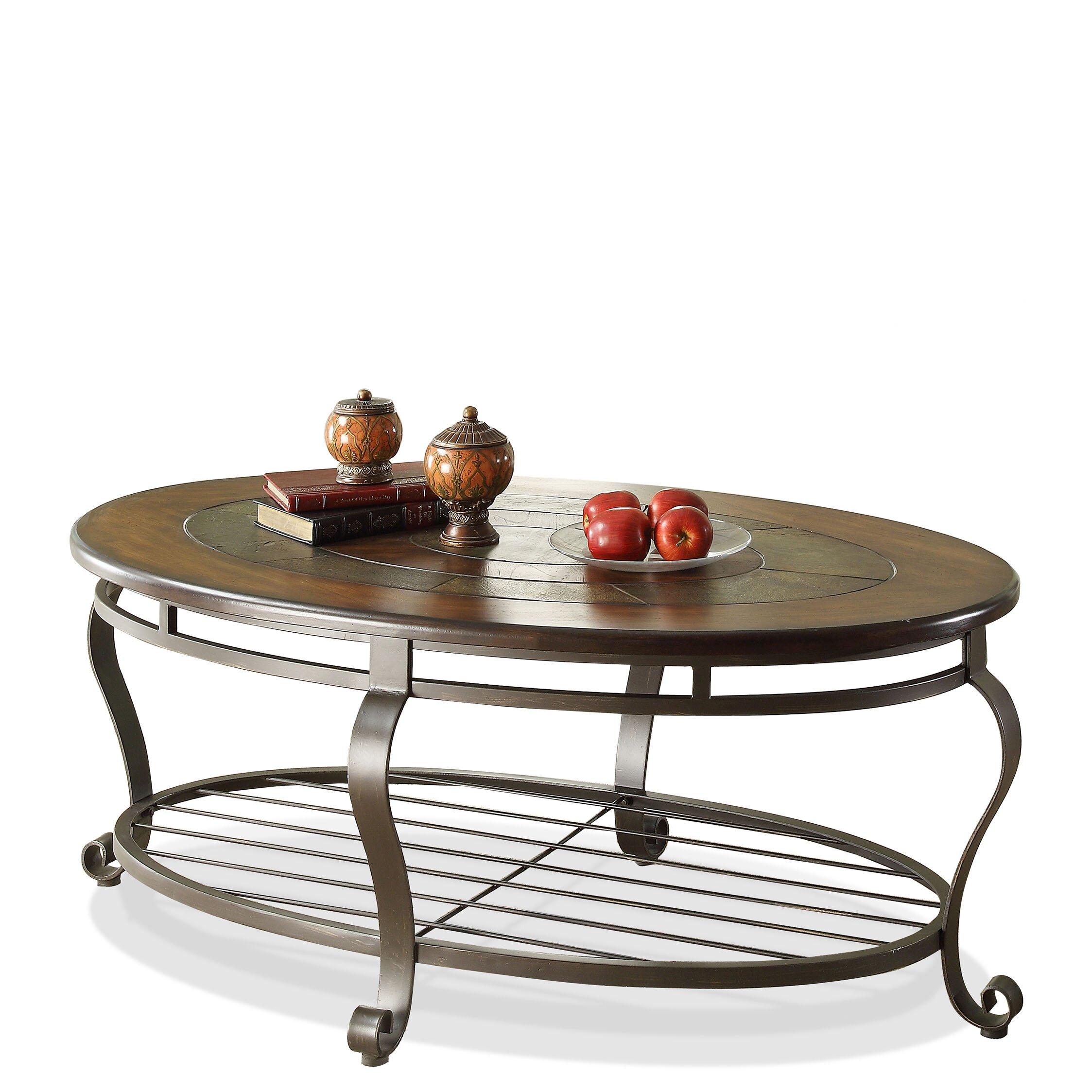 Riverside furniture eastview coffee table reviews wayfair for Wayfair shop furniture