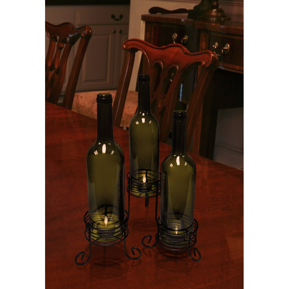 Vinotemp Wine Bottle Candle Holders Reviews Wayfair