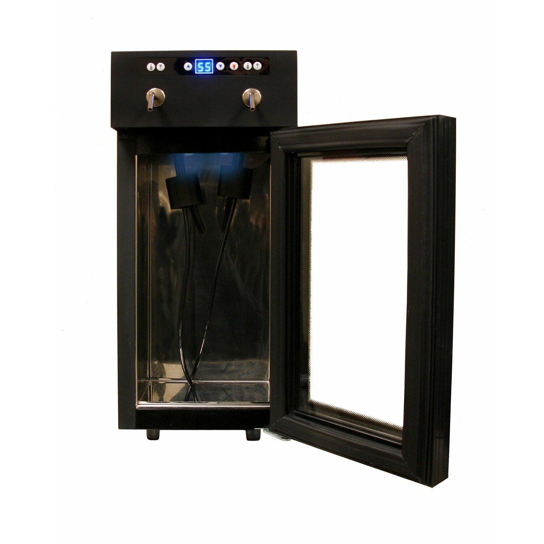 Vinotemp 2 Bottle Single Zone Built In Wine Refrigerator