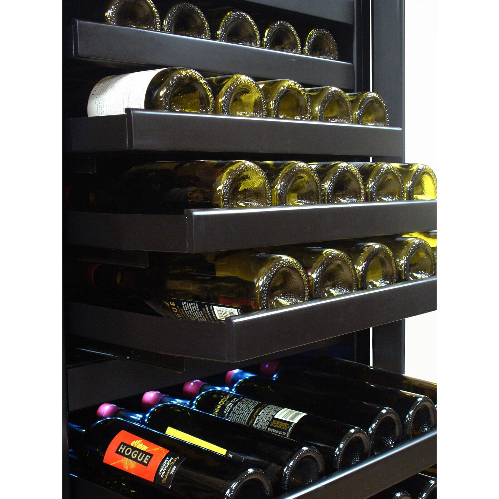 Vinotemp Butler 142 Bottle Dual Zone Built In Wine