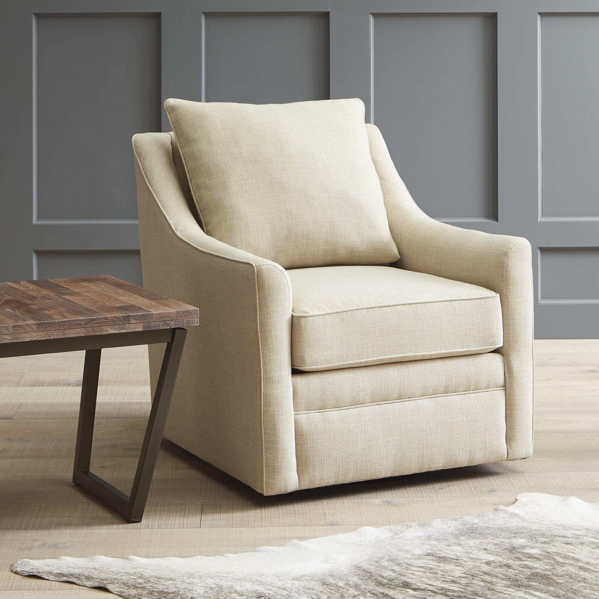 dwellstudio quincy swivel chair reviews wayfair