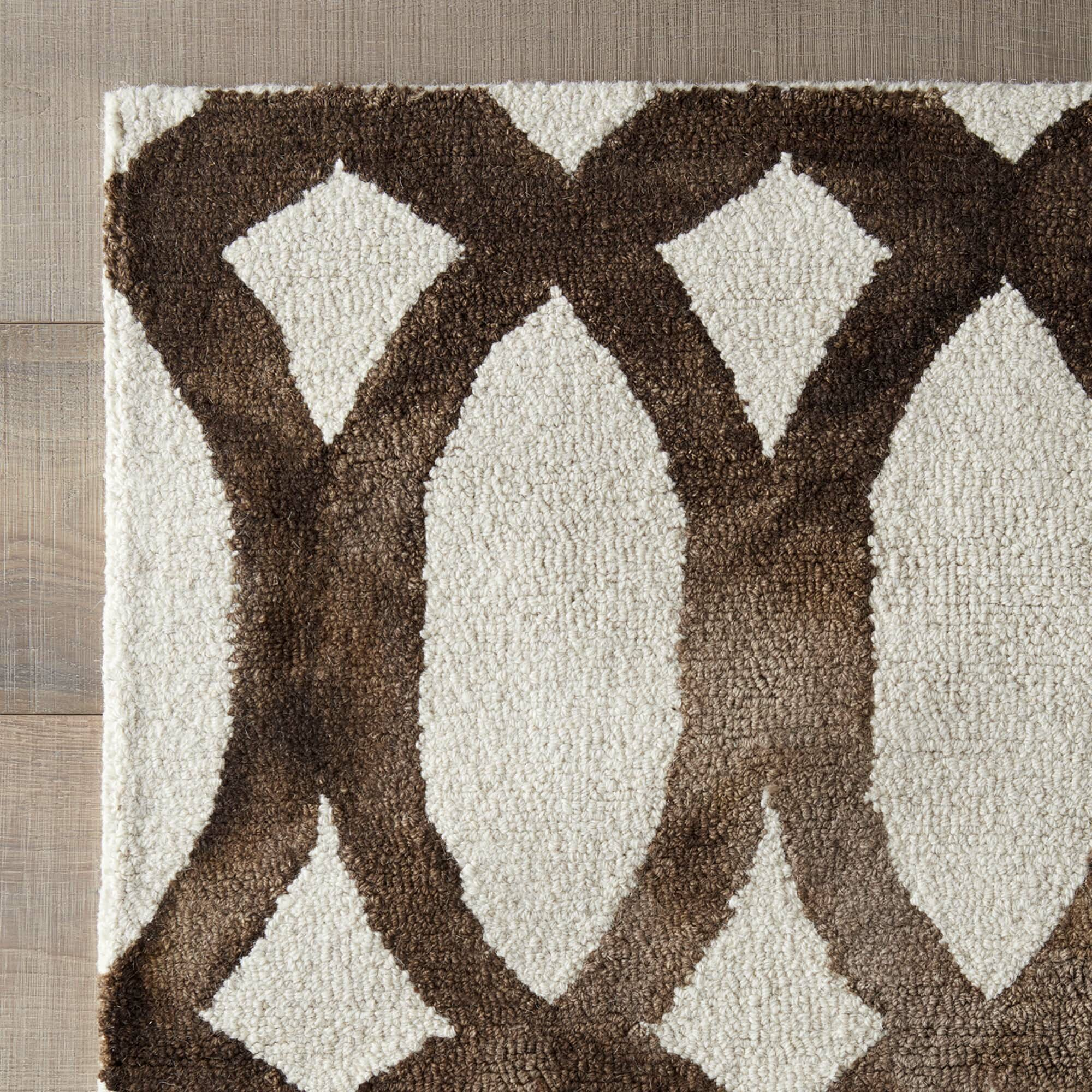dwellstudio moscow rug in ivory cacao reviews wayfair