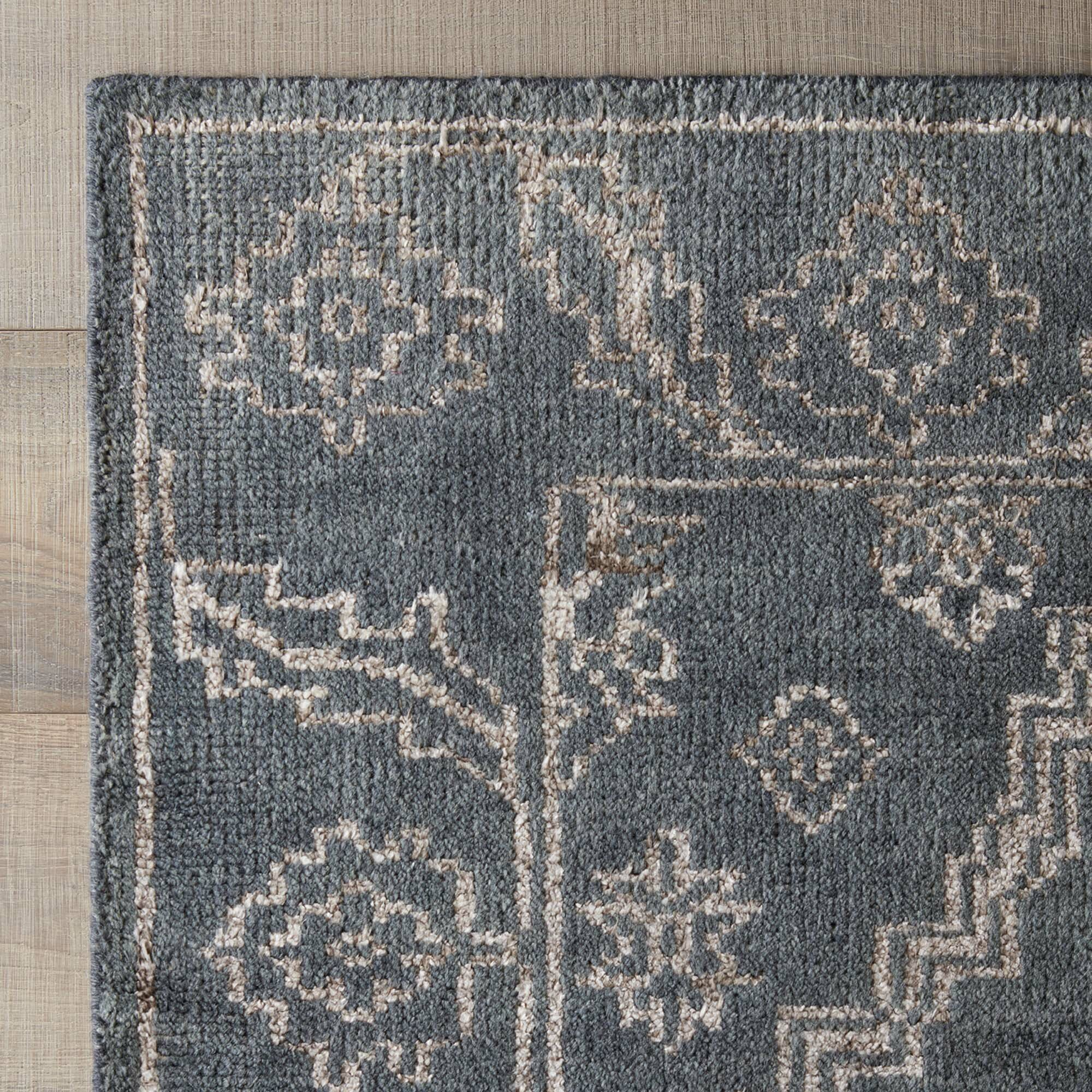 dwellstudio rambla rug in slate ivory wayfair