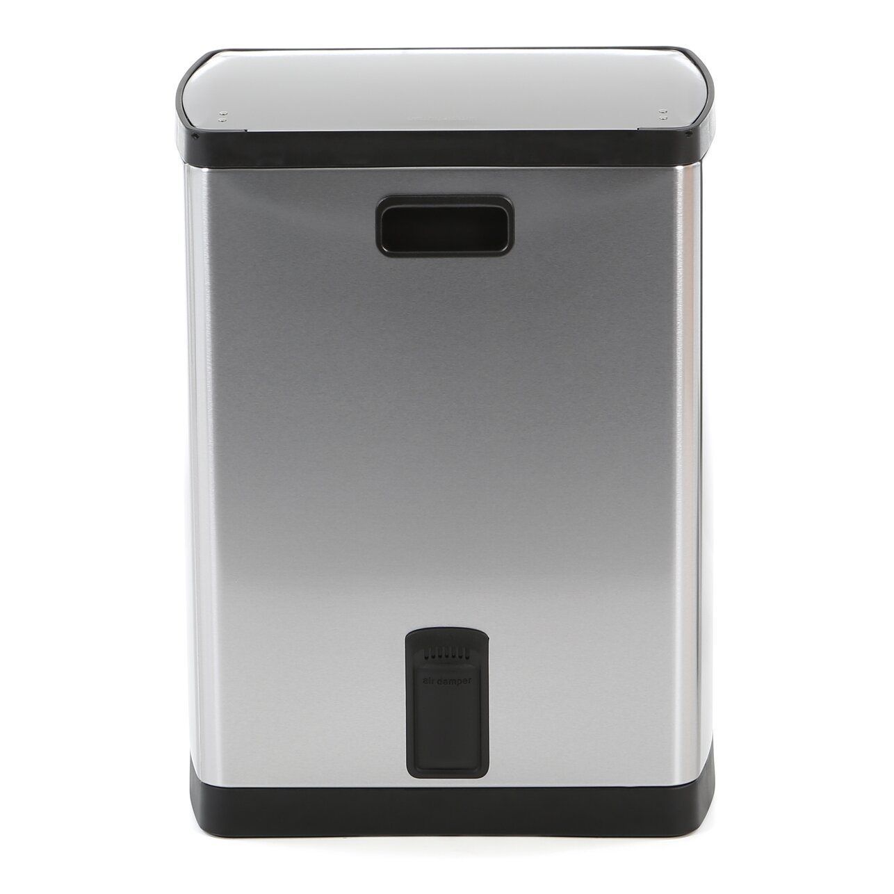 simplehuman 8 gallon step on stainless steel trash can reviews. Black Bedroom Furniture Sets. Home Design Ideas