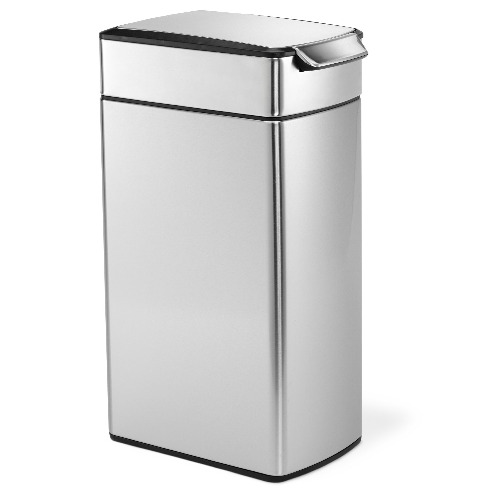 Target Kitchen Trash Cans: Simplehuman 10.5 Gallon Touch Top Stainless Steel Trash