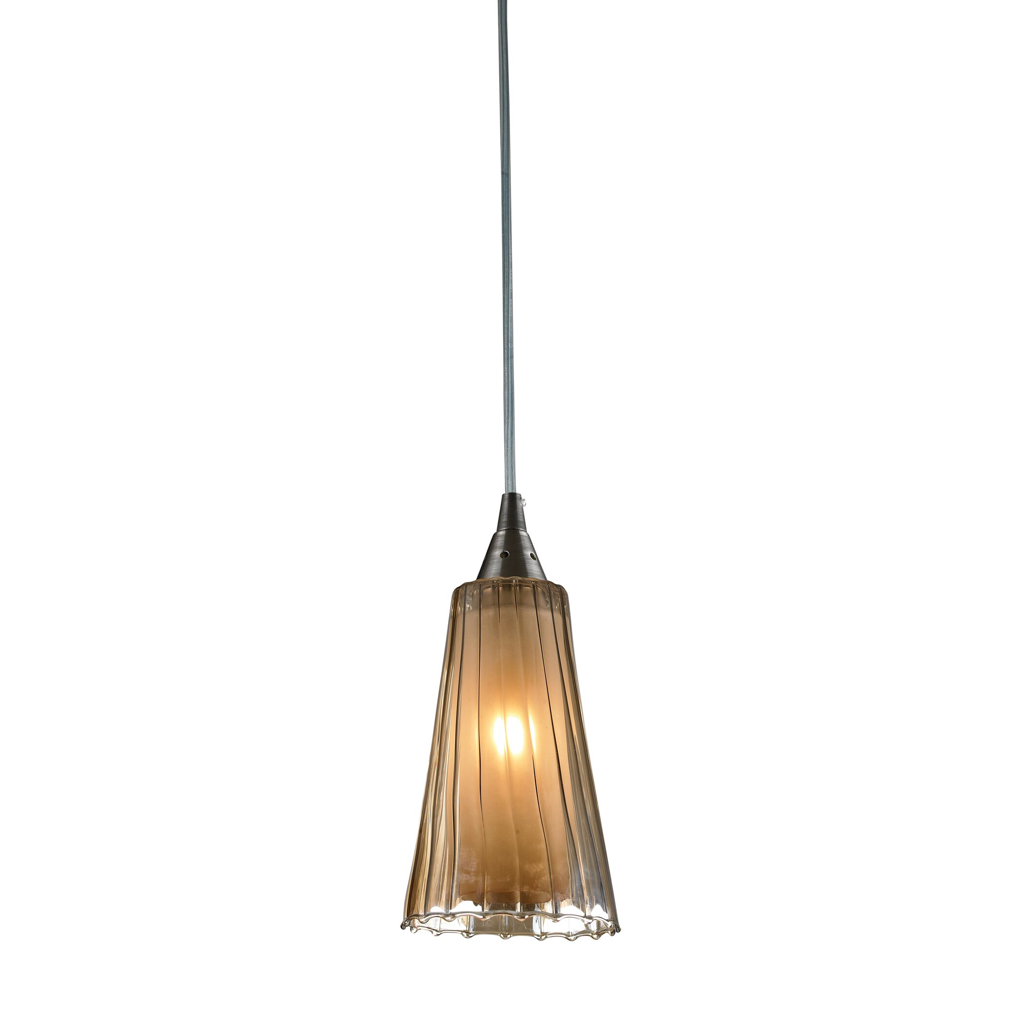 Elk Lighting Andalusia: Elk Lighting Freeport 1 Light Pendant