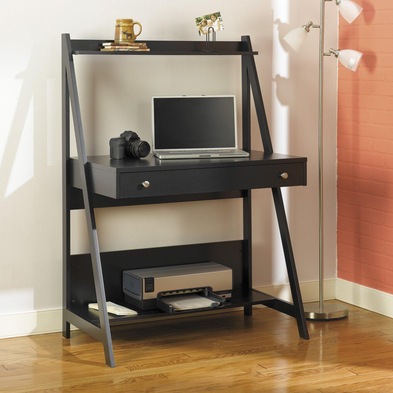 Bush Furniture My Space Easy Alamosa Ladder Writing Desk