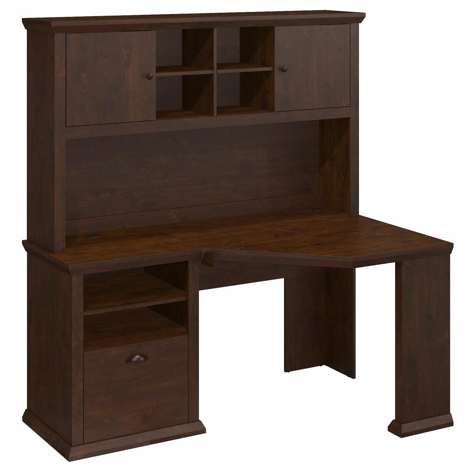 Bush furniture yorktown corner desk and hutch reviews for Bush furniture