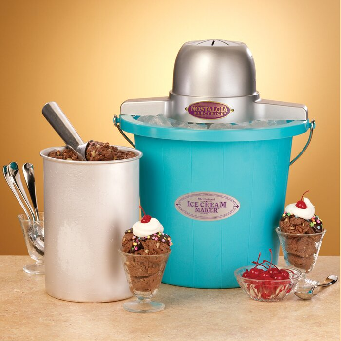 Nostalgia Electrics Old Fashioned Ice Cream Maker Reviews