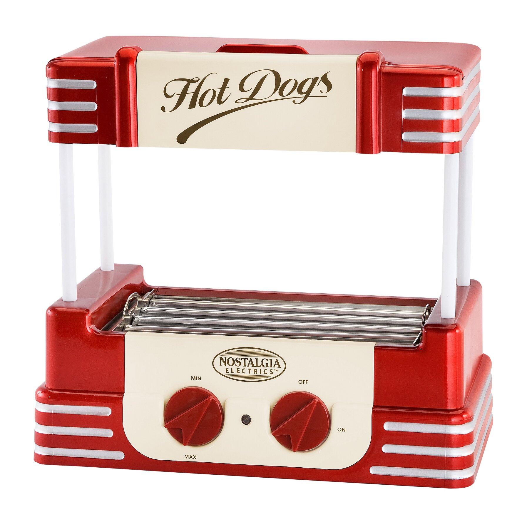 Nostalgia electrics retro hot dog roller reviews wayfair - Electrodomesticos retro ...