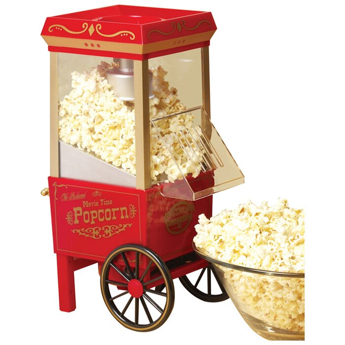 nostalgia hot air popcorn maker reviews