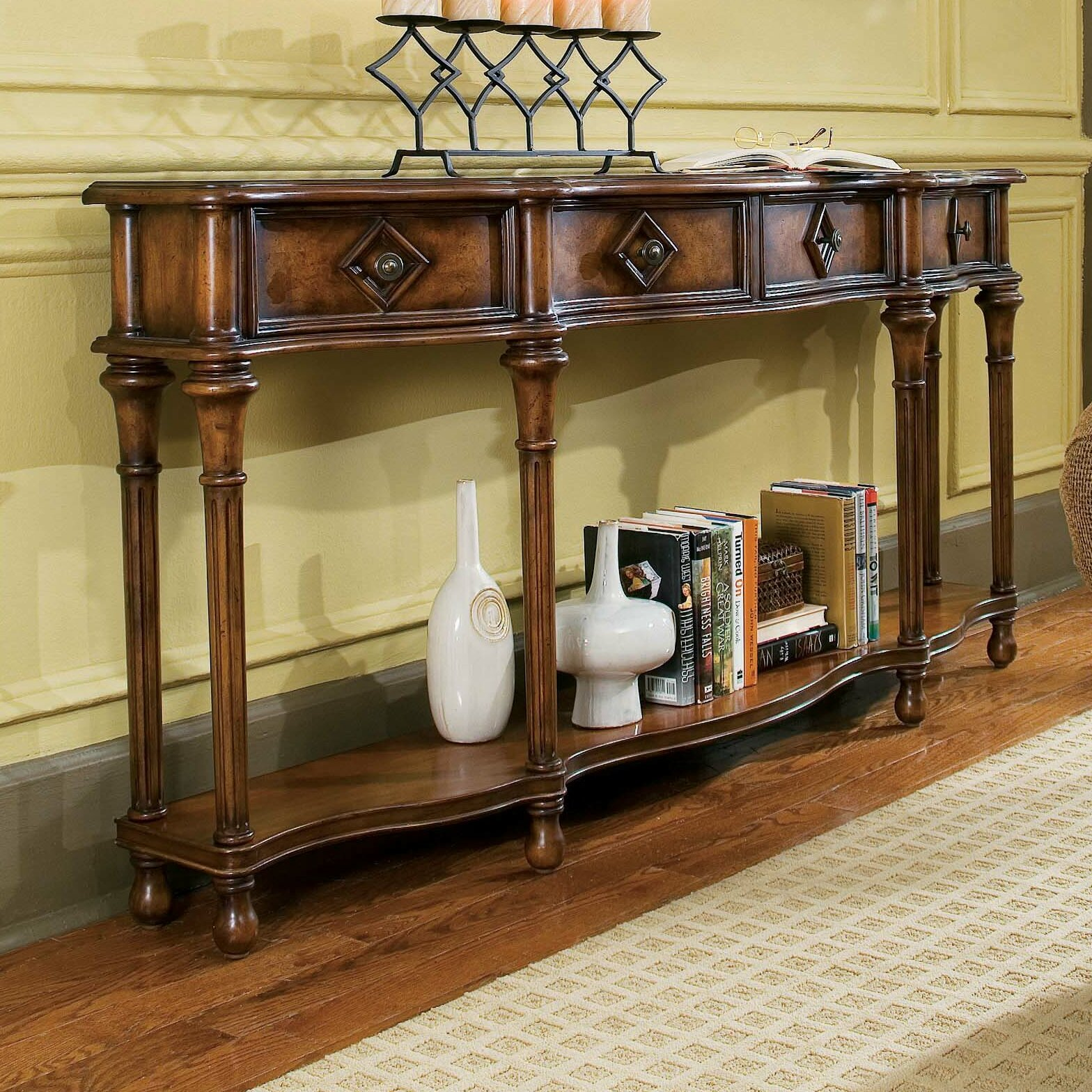 Hooker Furniture Decorator Hall Console Table 963 85 122 HKR3549