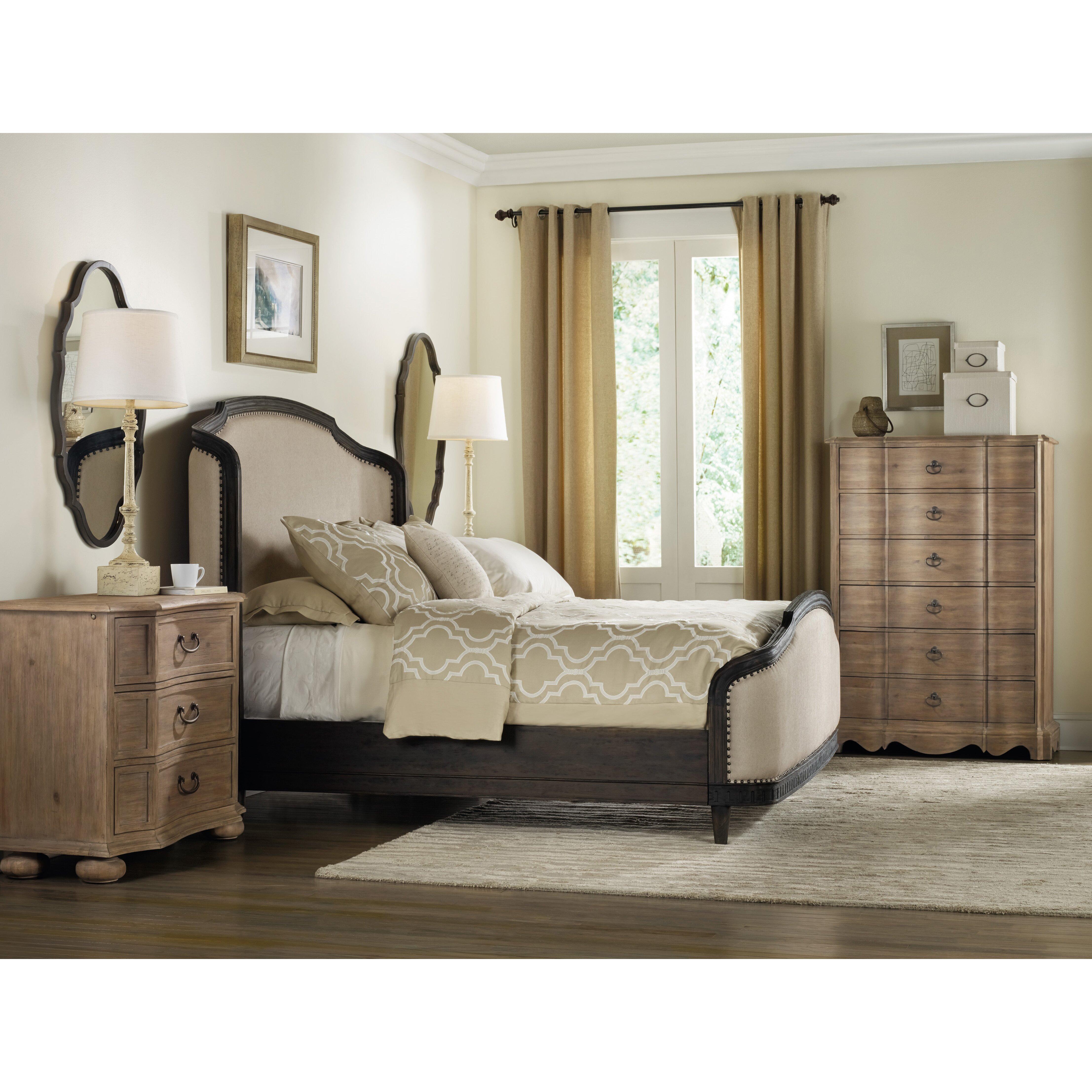 Hooker Furniture Corsica Upholstered Headboard Reviews Wayfair