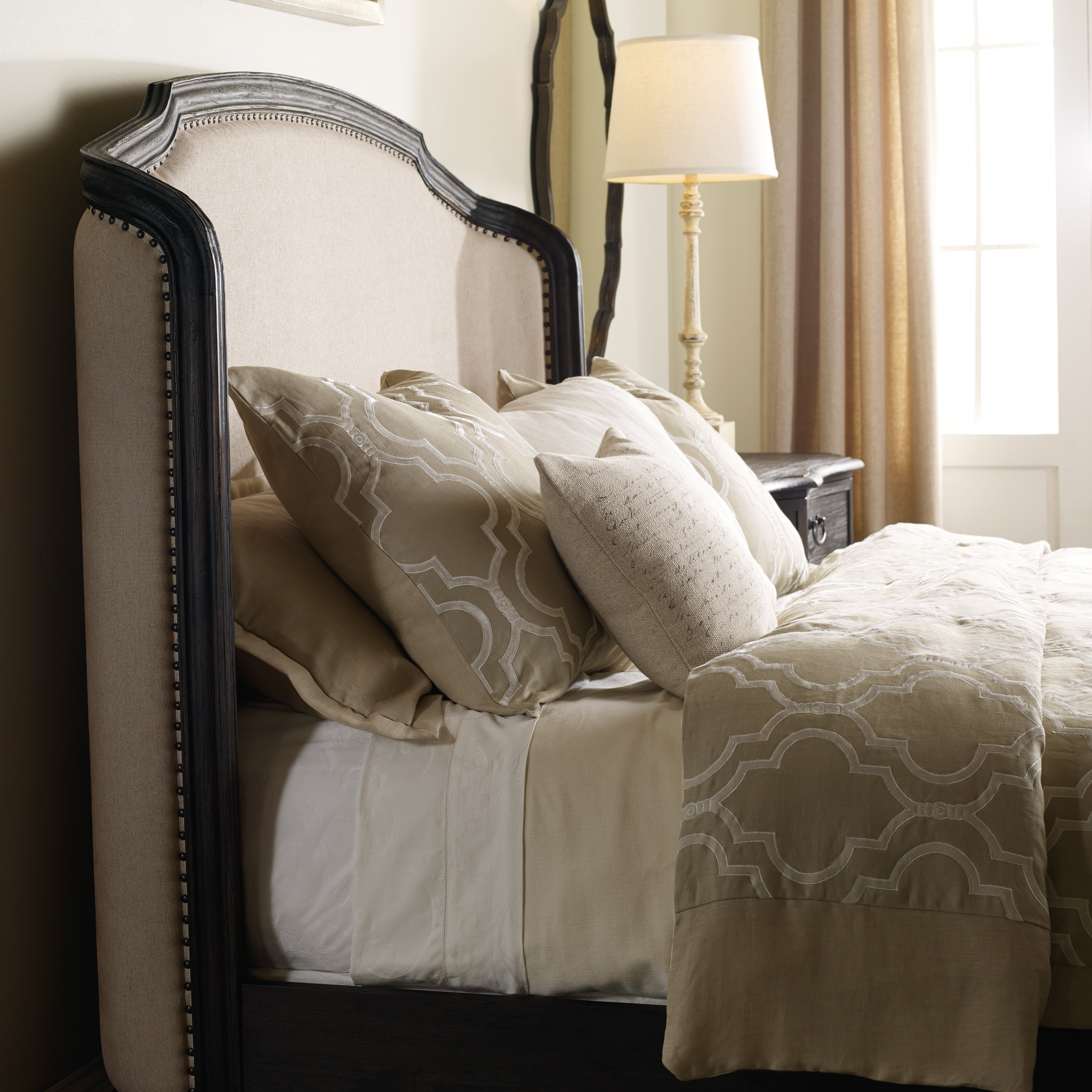furniture corsica upholstered headboard reviews