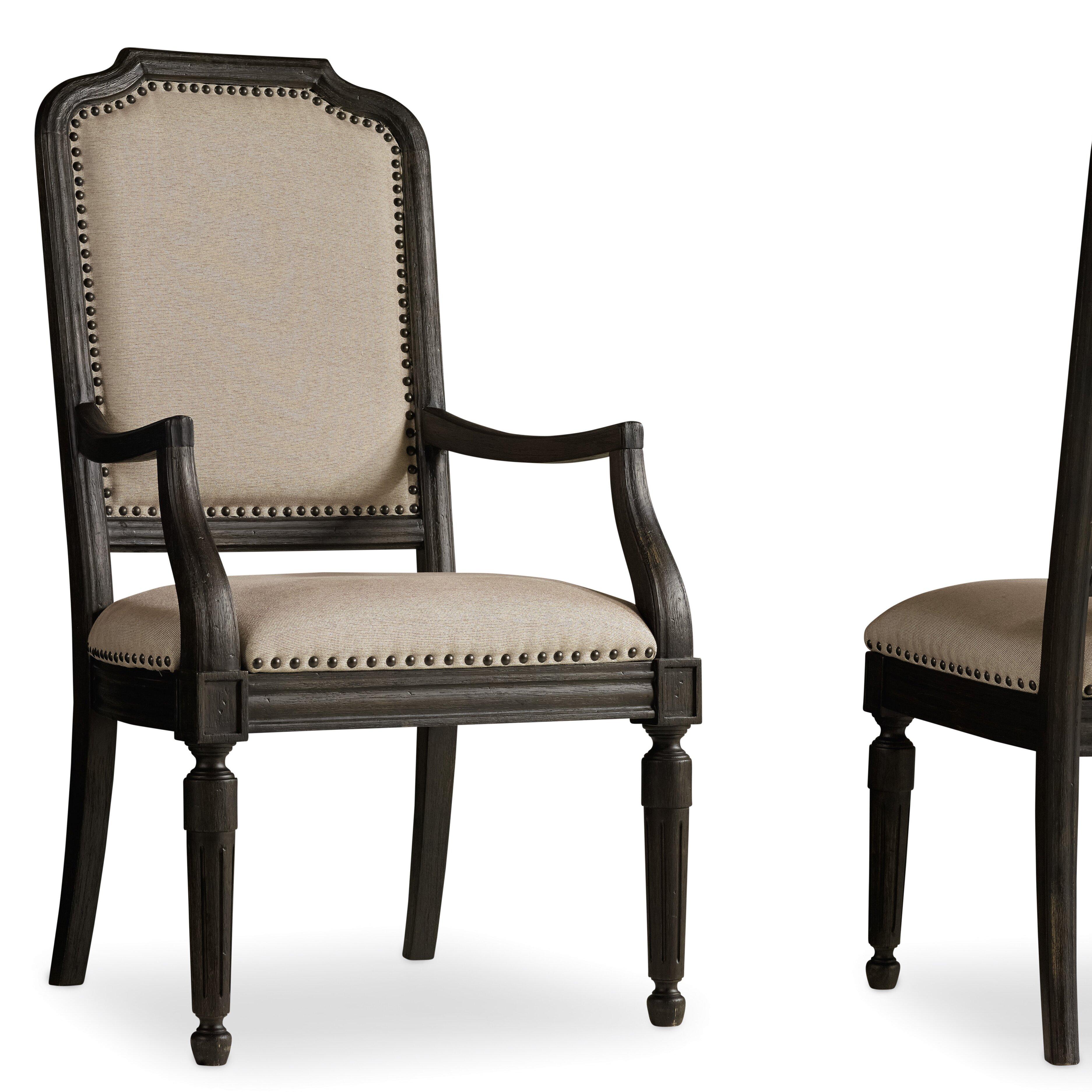 Hooker Furniture Corsica King Upholstered Shelter Bed in