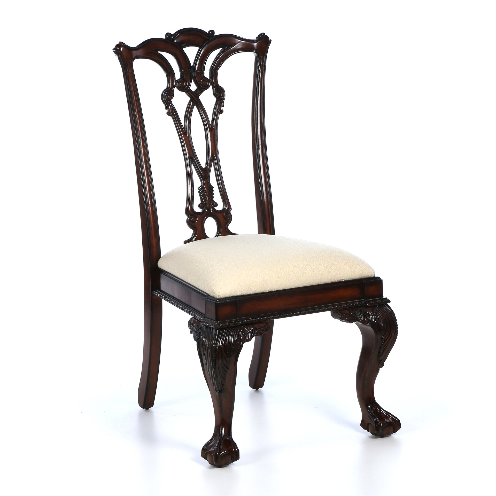Hooker Furniture Bedford Row Ball Claw Desk Chair In