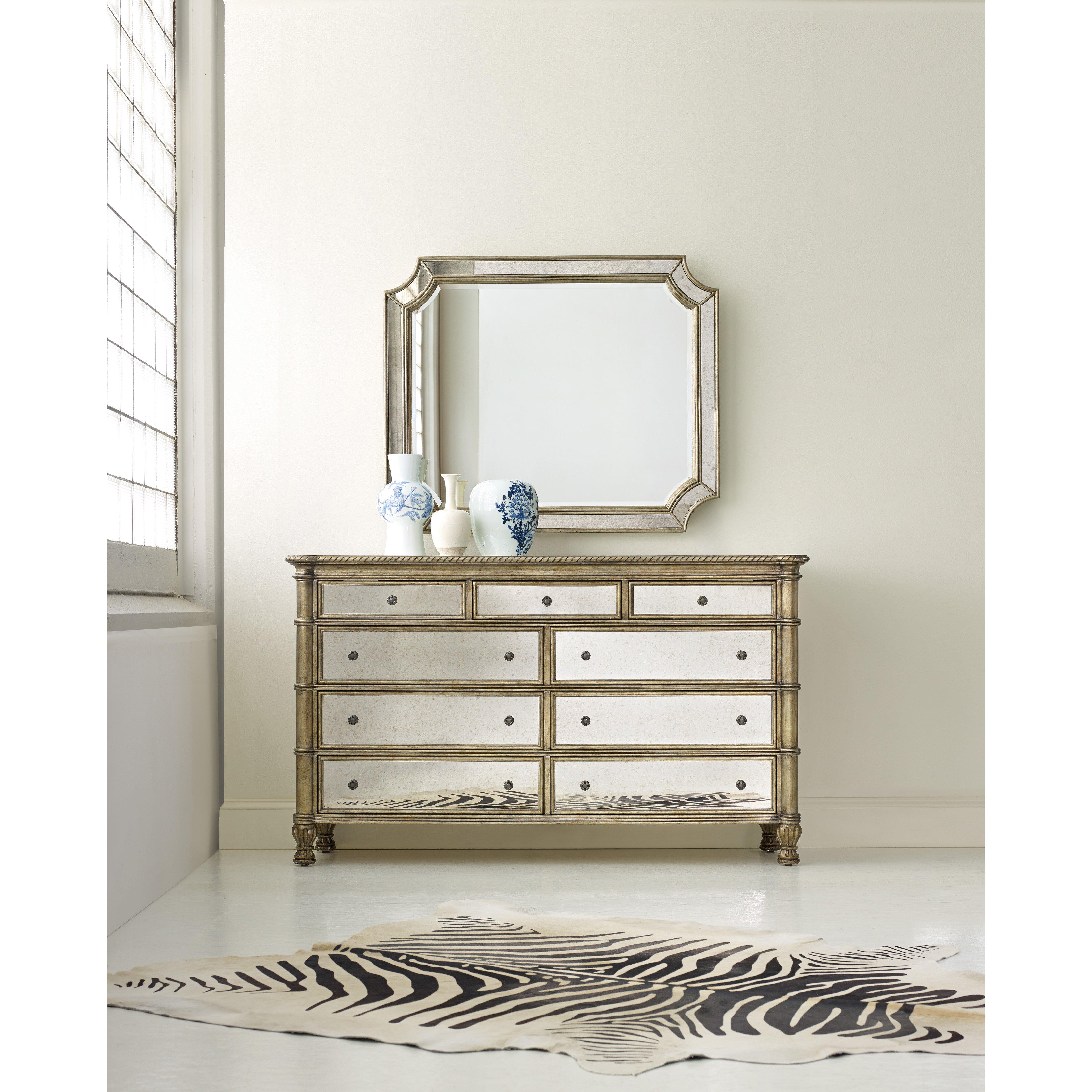 Hooker Furniture Melange Montage 9 Drawer Dresser Reviews
