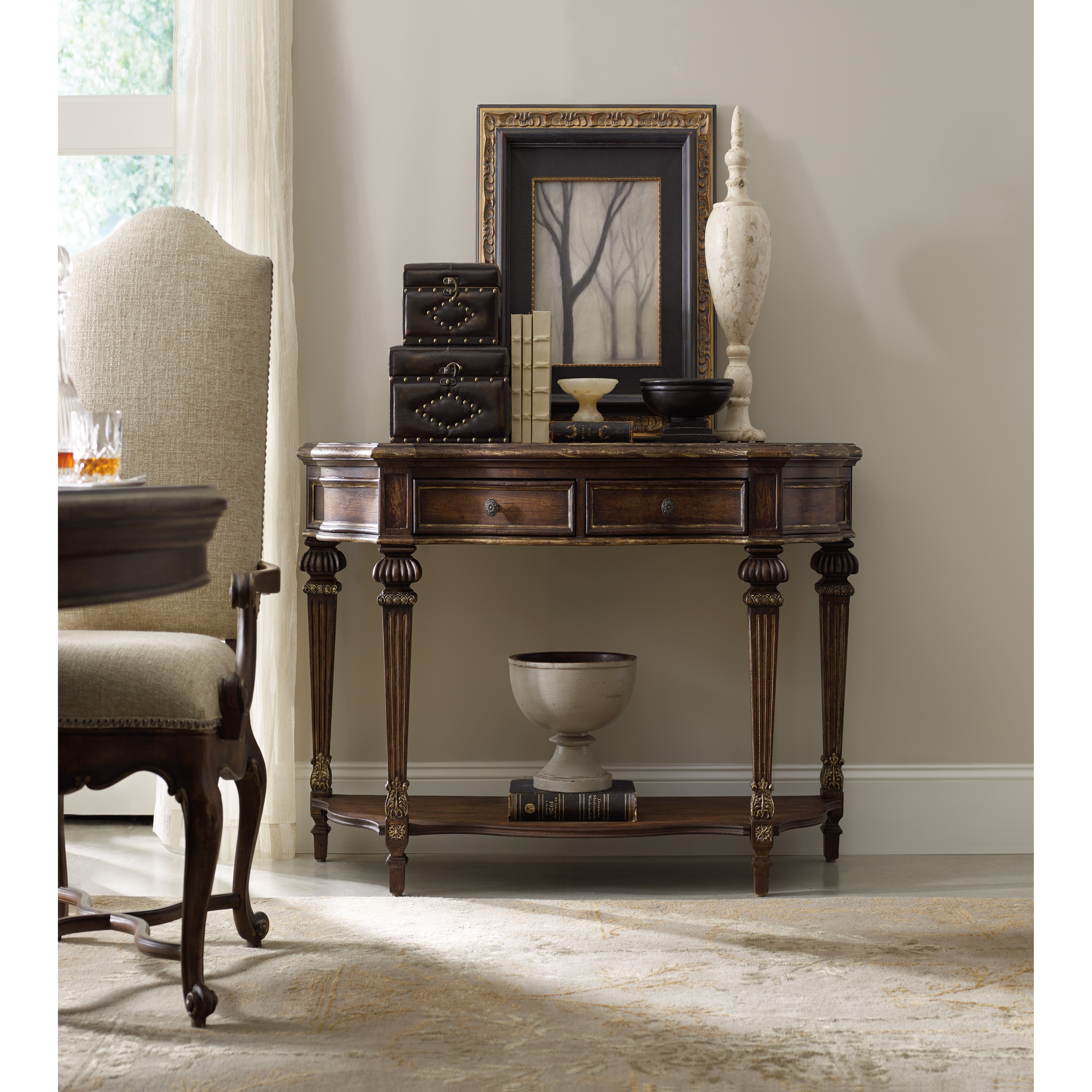 Hooker Furniture Adagio Console Table & Reviews