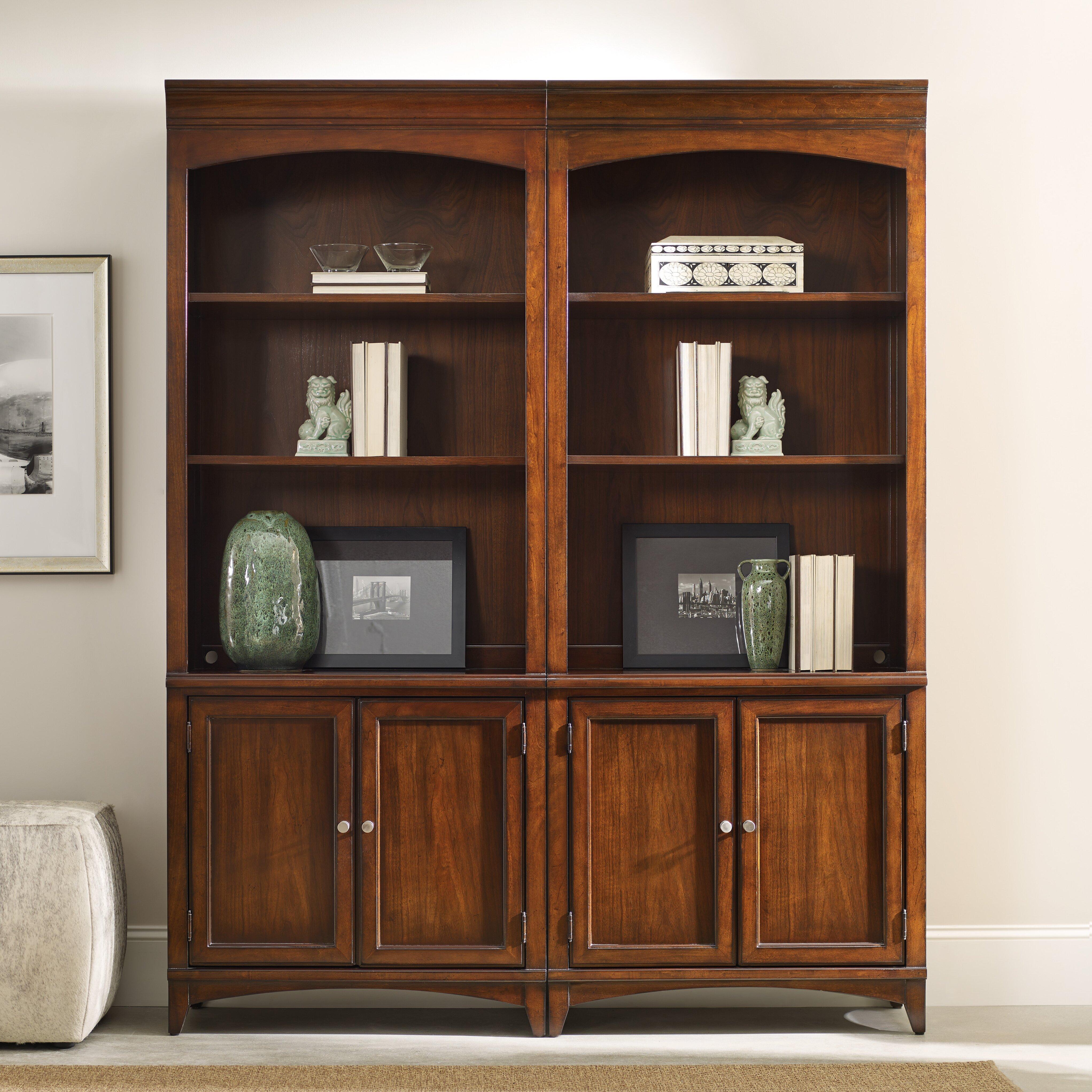 Hooker Furniture Latitude Bunching 81 Standard Bookcase Reviews Wayfair