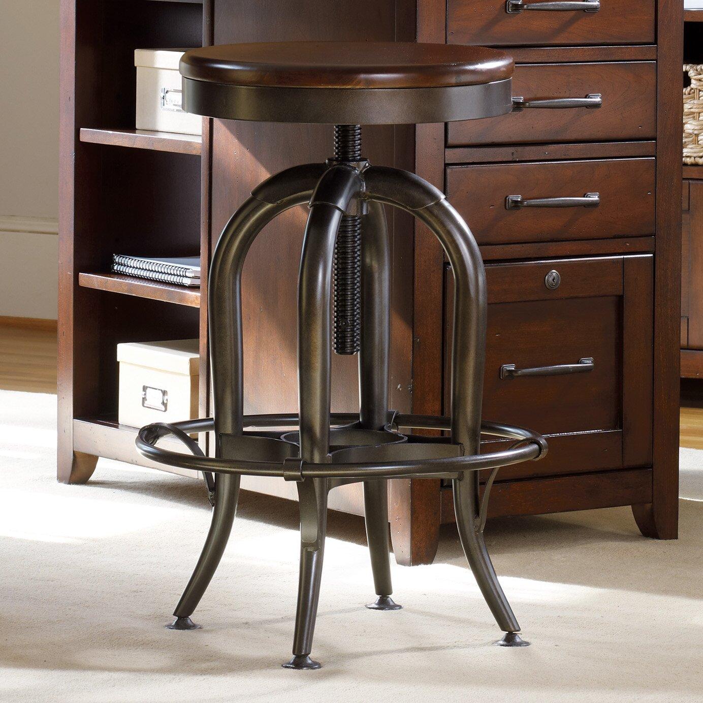 Hooker Furniture Wendover Adjustable Height Swivel Bar