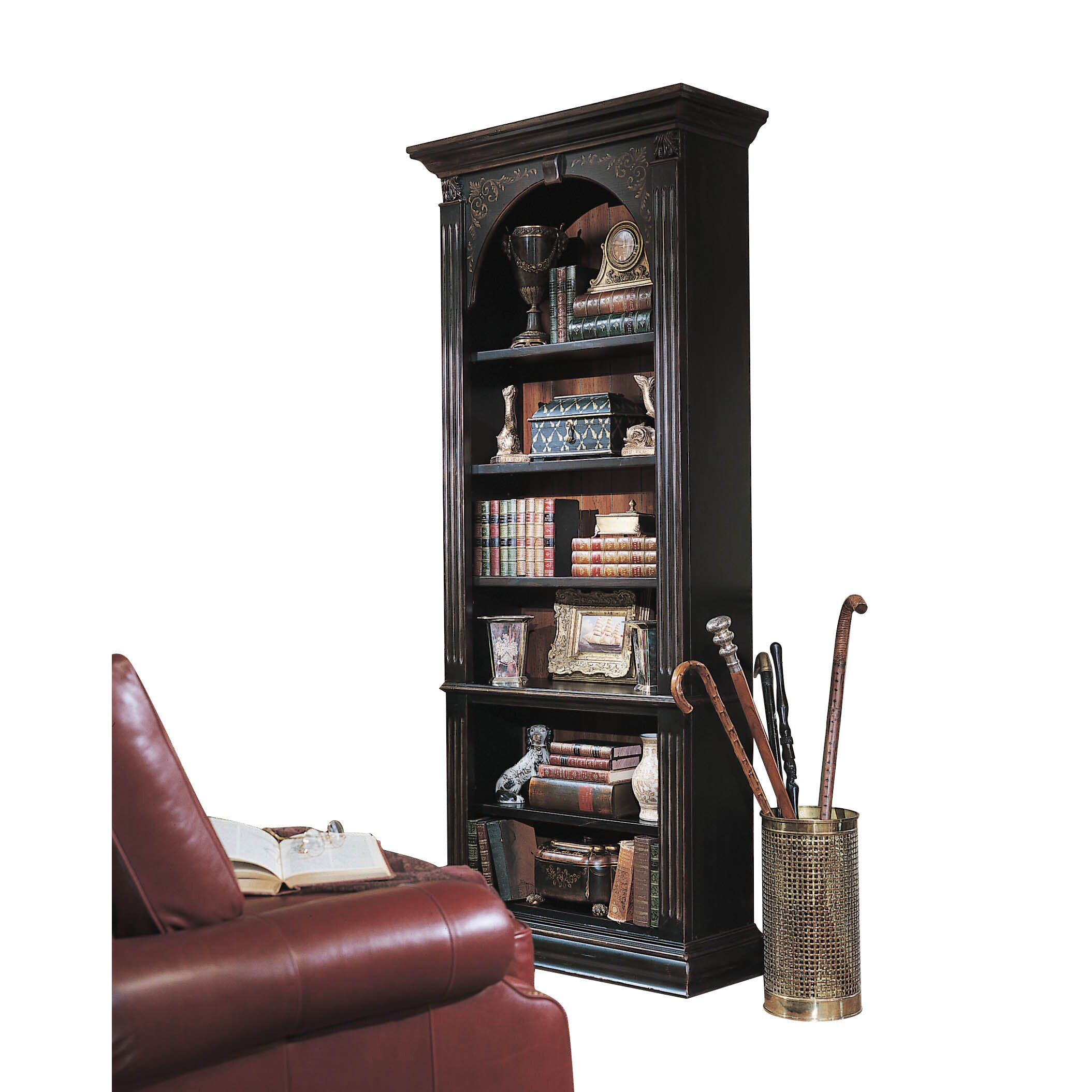 "Hooker Furniture Seven Seas 85"" Standard Bookcase"