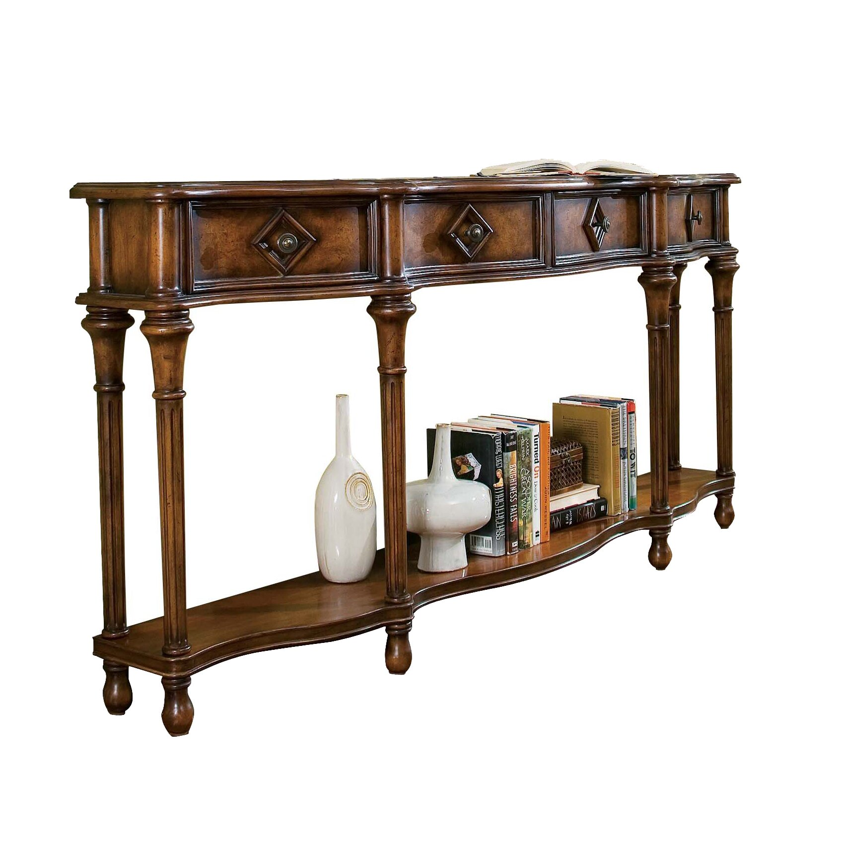 Hooker Furniture Decorator Hall Console Table Reviews Wayfair