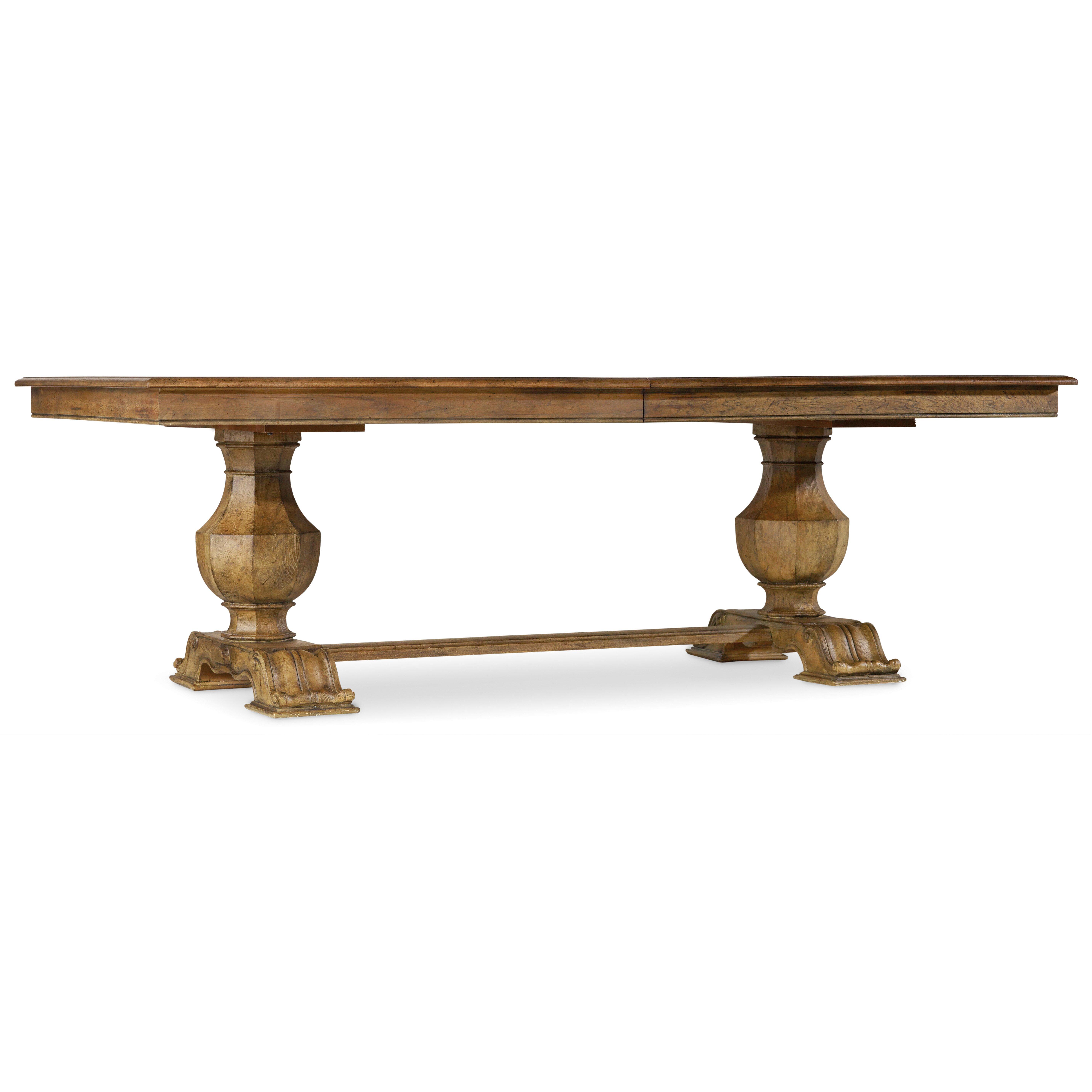 hooker furniture sanctuary dining table base reviews wayfair. Black Bedroom Furniture Sets. Home Design Ideas