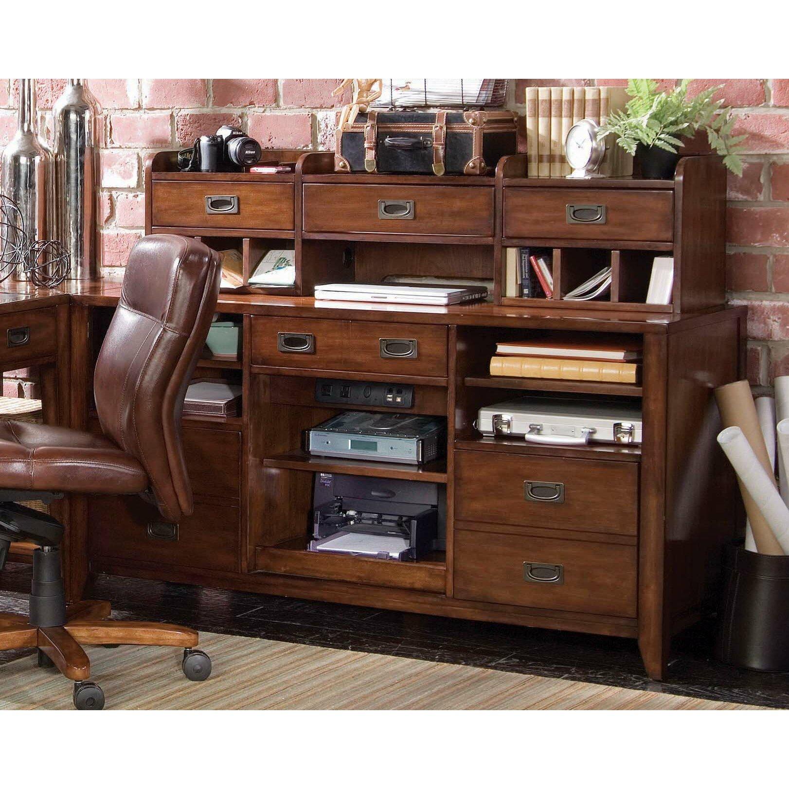 Hooker Furniture Danforth Open Credenza Reviews Wayfair