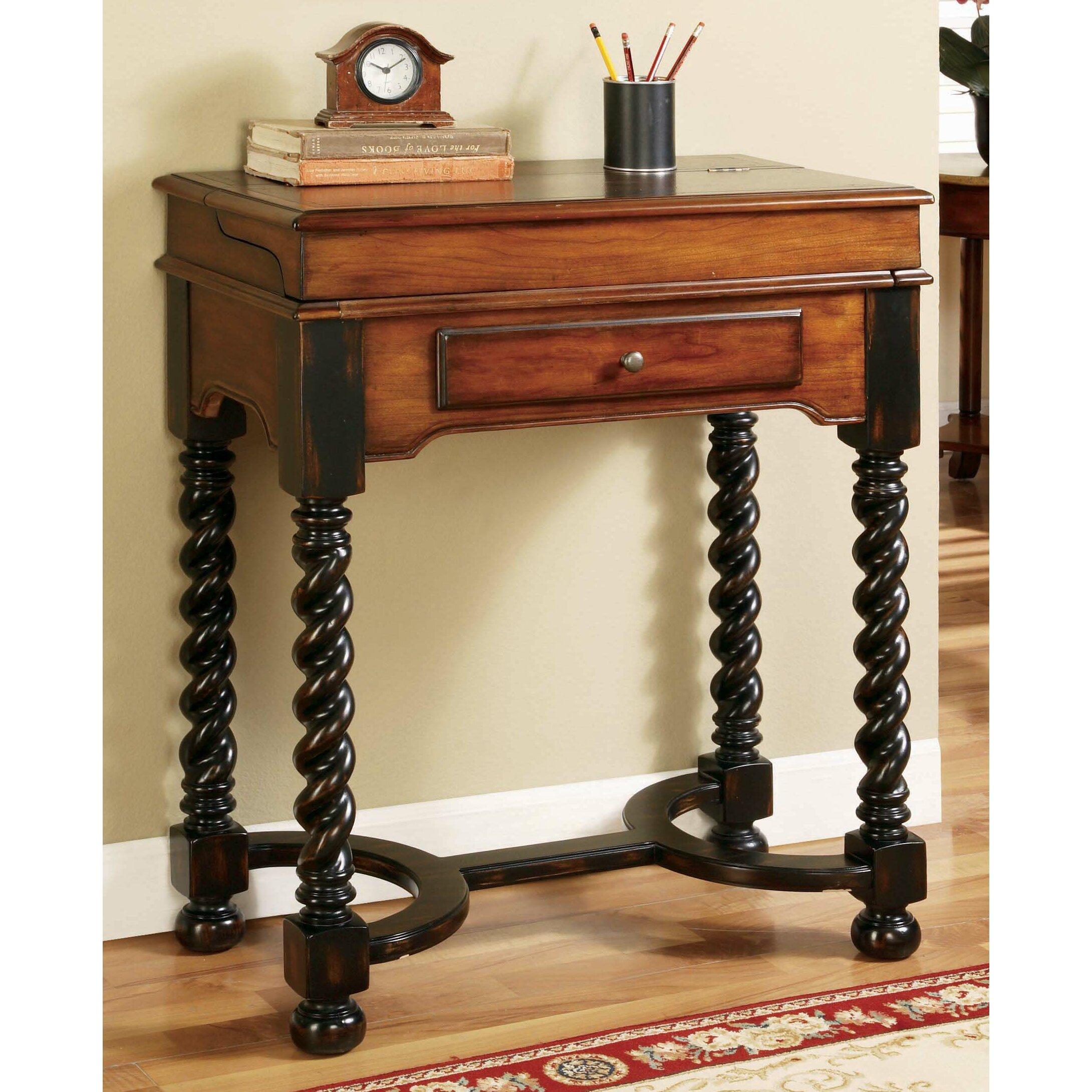 Hooker Furniture 7 Seas Jacobean Flip Top Writing Desk