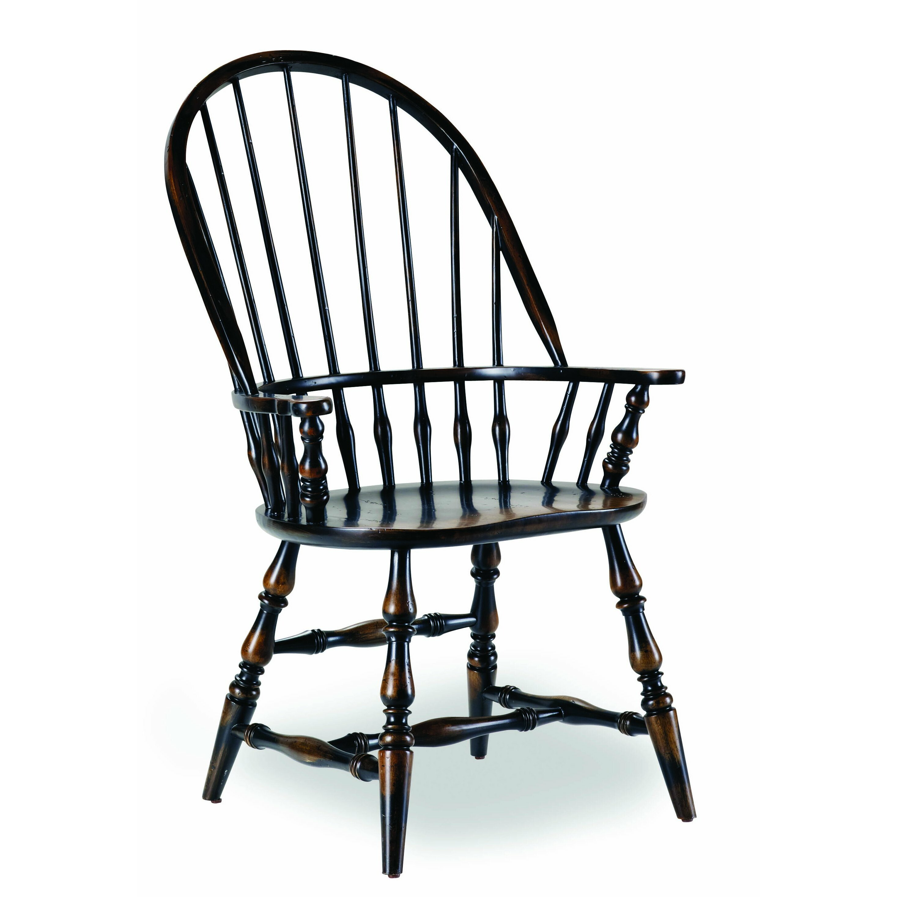 Windsor Kitchen Chairs: Hooker Furniture Sanctuary Windsor Arm Chair & Reviews