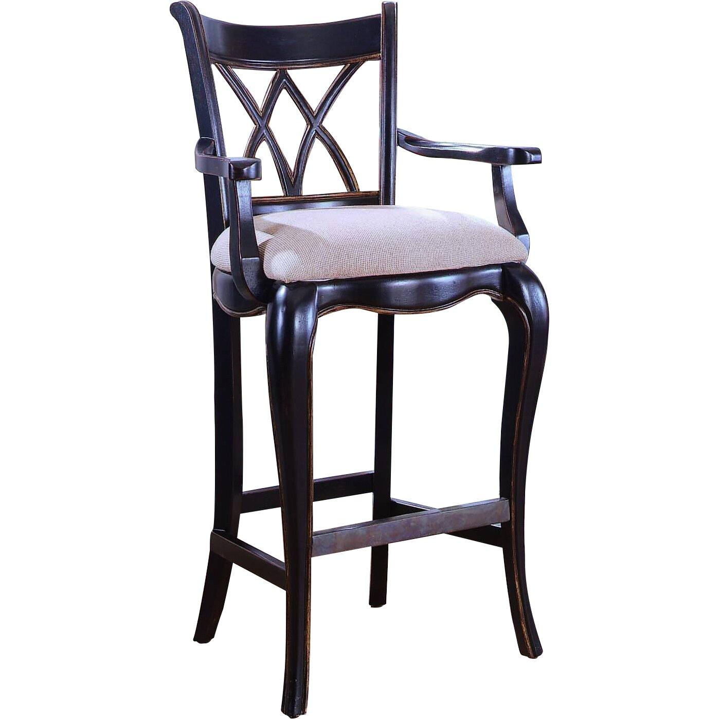 Hooker furniture preston ridge bar stool reviews for Furniture 24