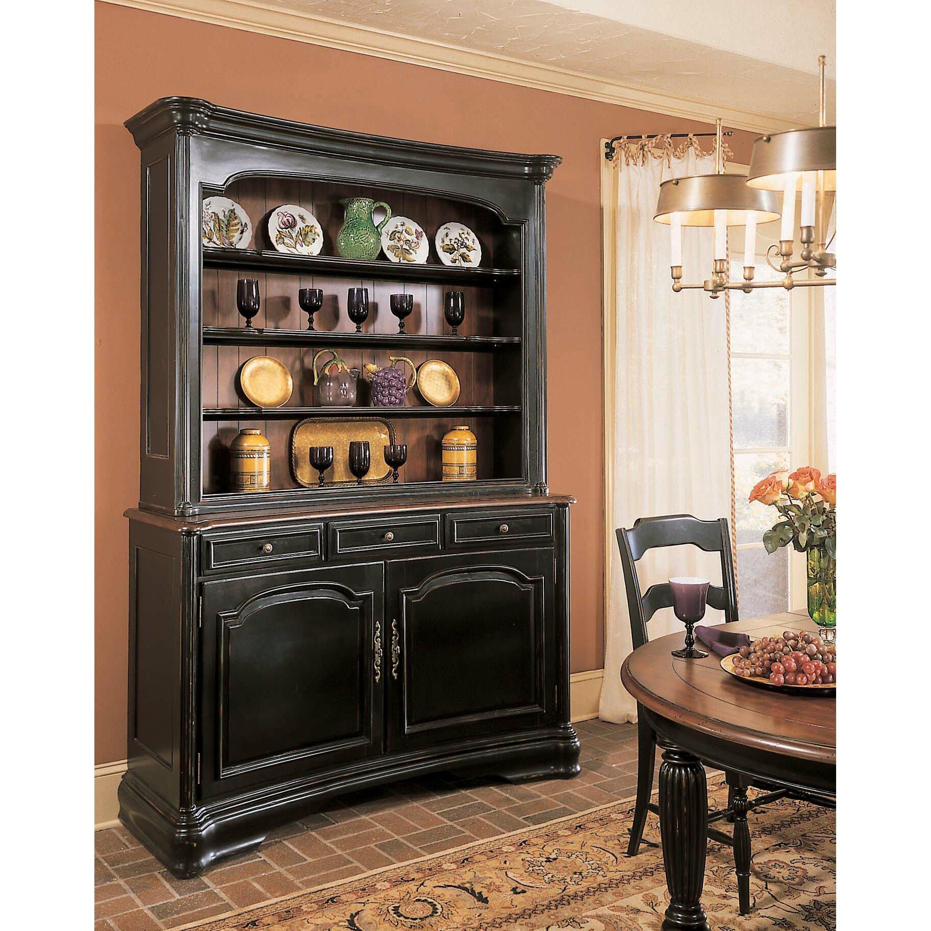 Hooker furniture indigo creek china cabinet base reviews for Indigo kitchen cabinets