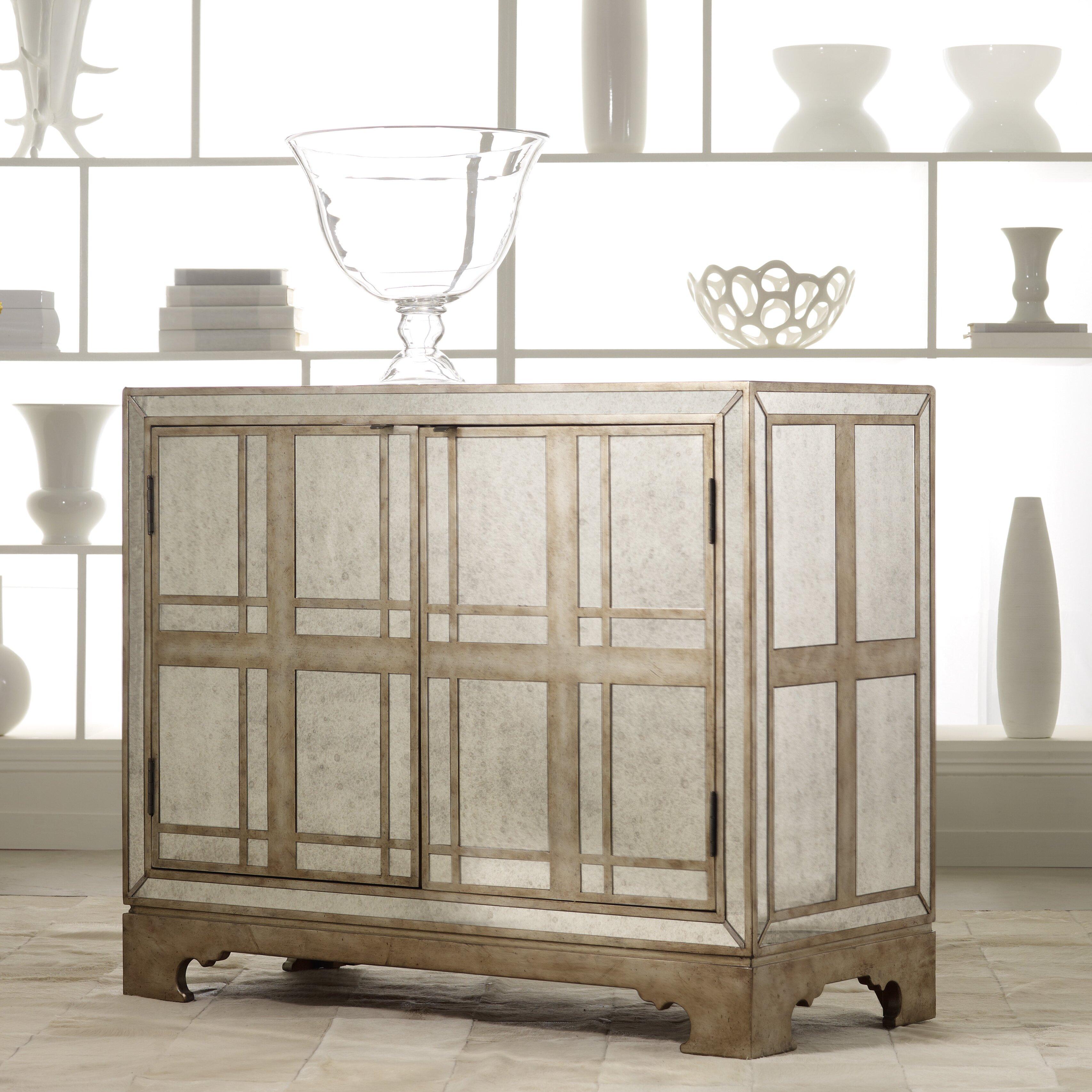 Hooker Furniture Melange Mirrored Sideboard & Reviews