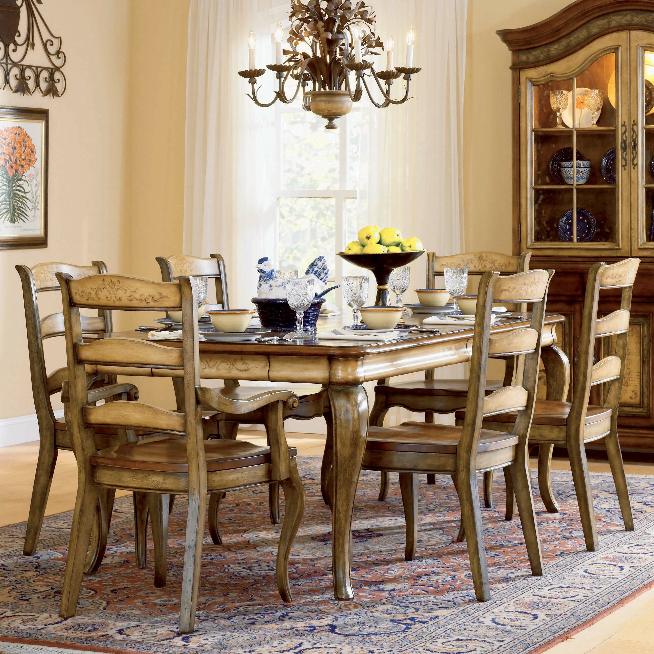 Hooker furniture vineyard piece dining set reviews