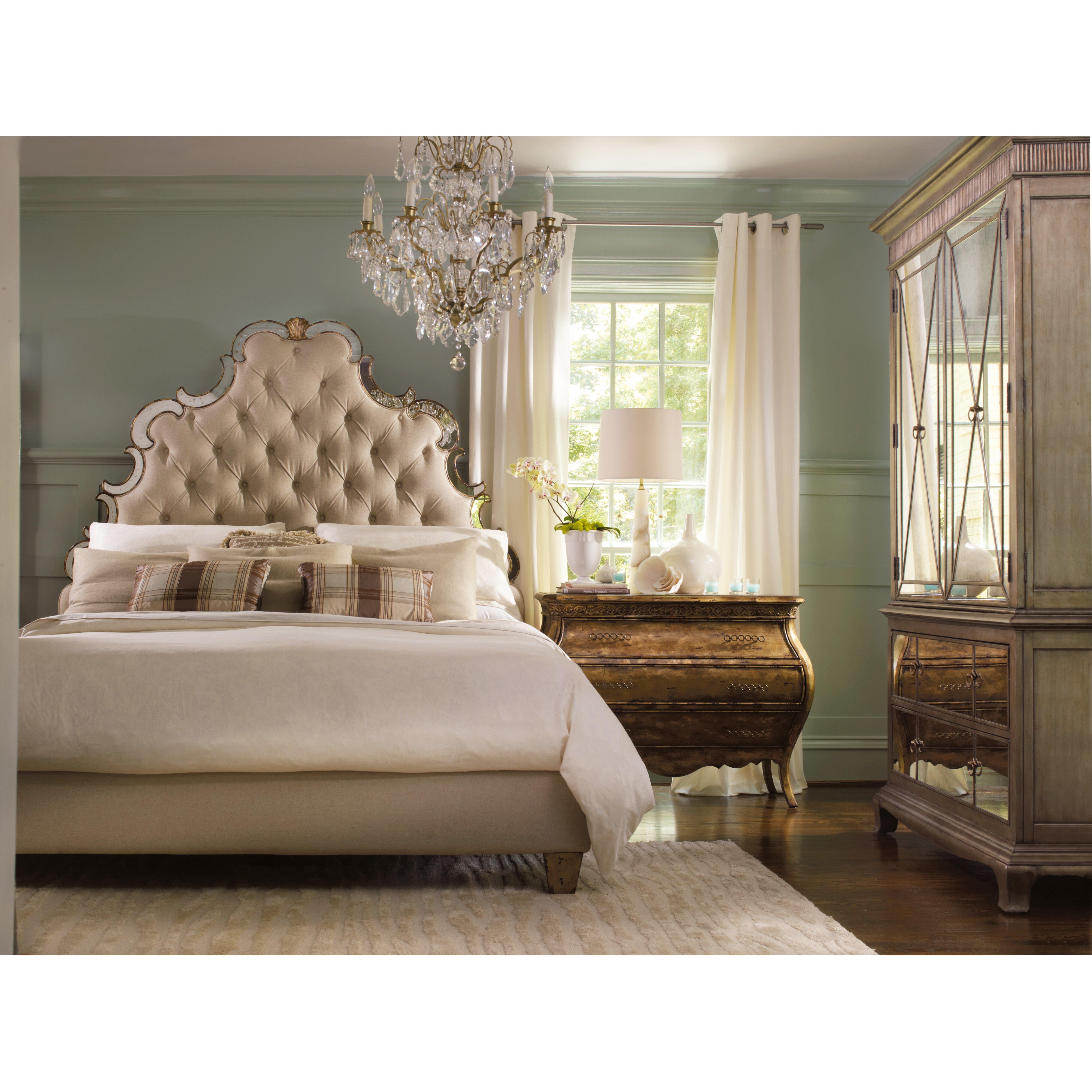 Hooker Furniture Sanctuary Upholstered Headboard Reviews Wayfair