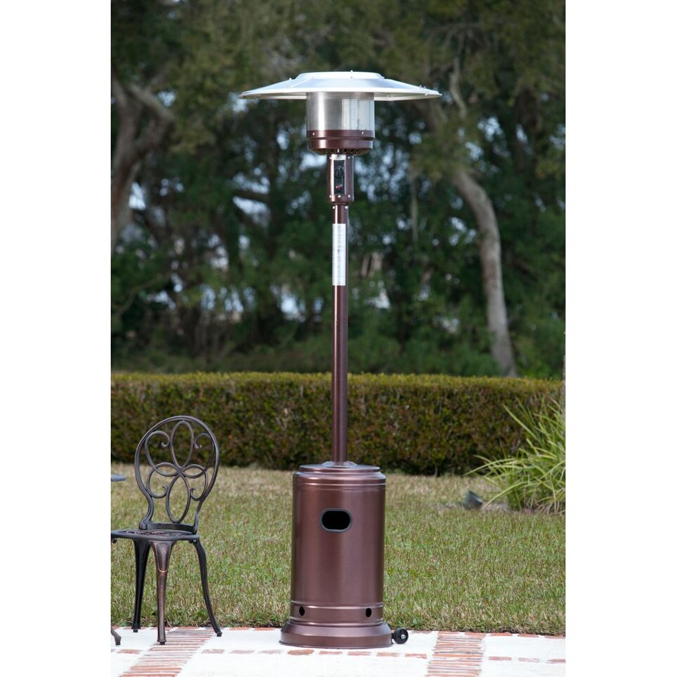 fire sense commercial propane patio heater reviews wayfair