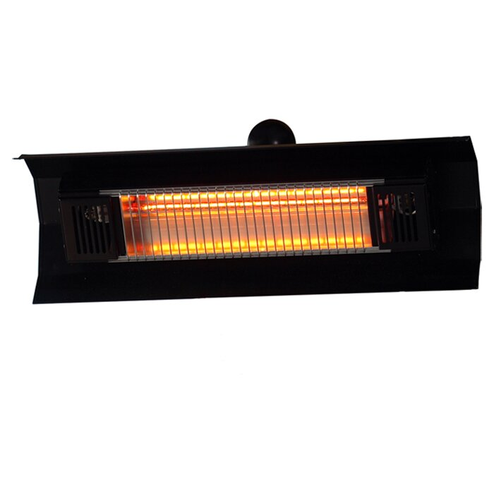 fire sense wall mounted electric patio heater reviews
