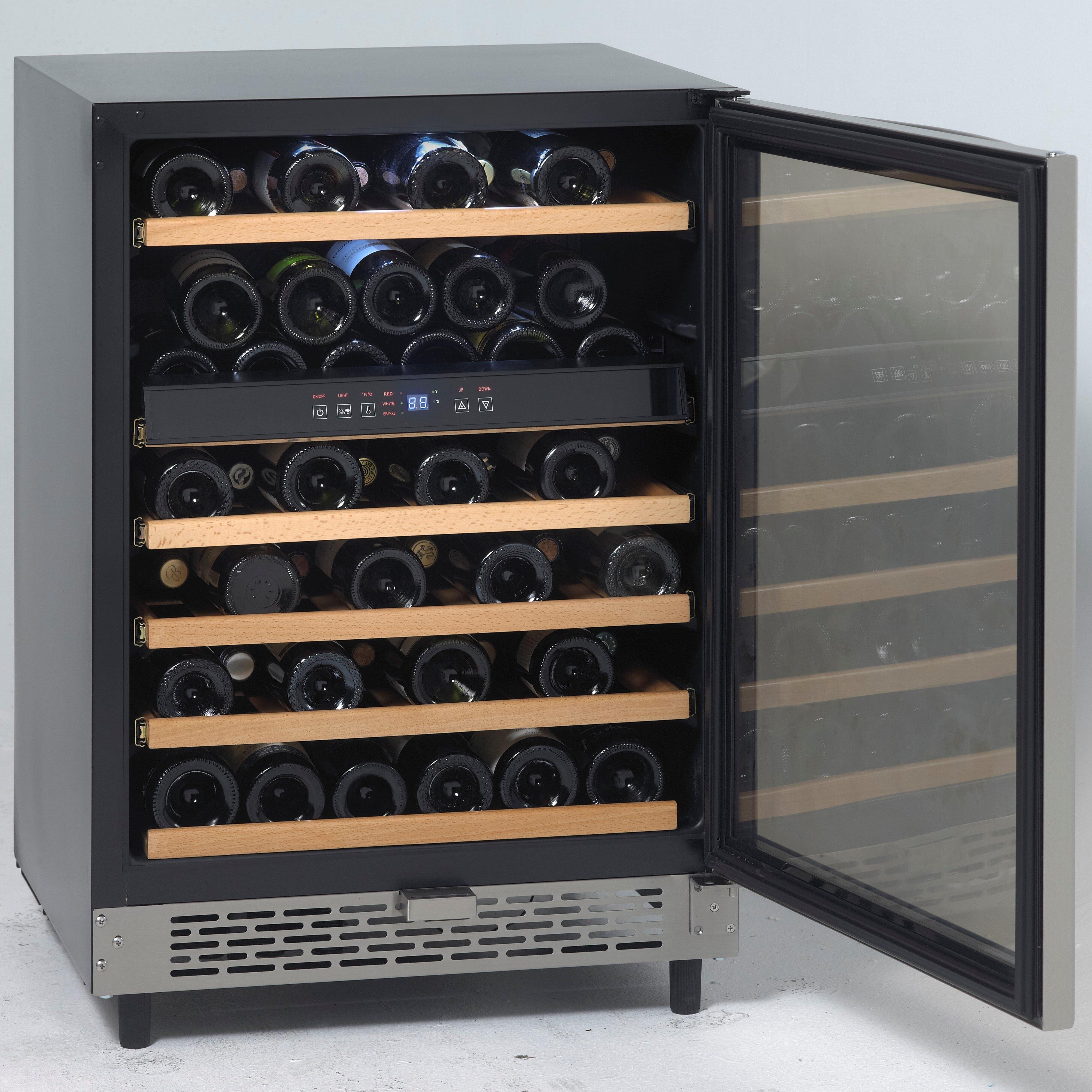 Avanti 49 Bottle Single Zone Built In Wine Refrigerator