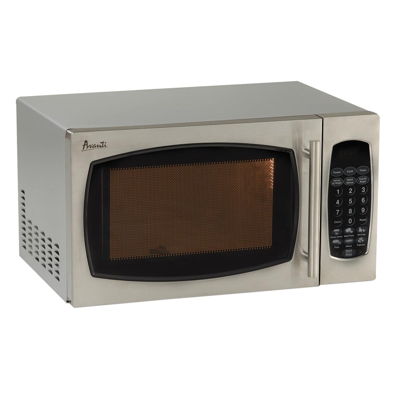 avanti 0 9 cu ft 900w countertop microwave reviews. Black Bedroom Furniture Sets. Home Design Ideas